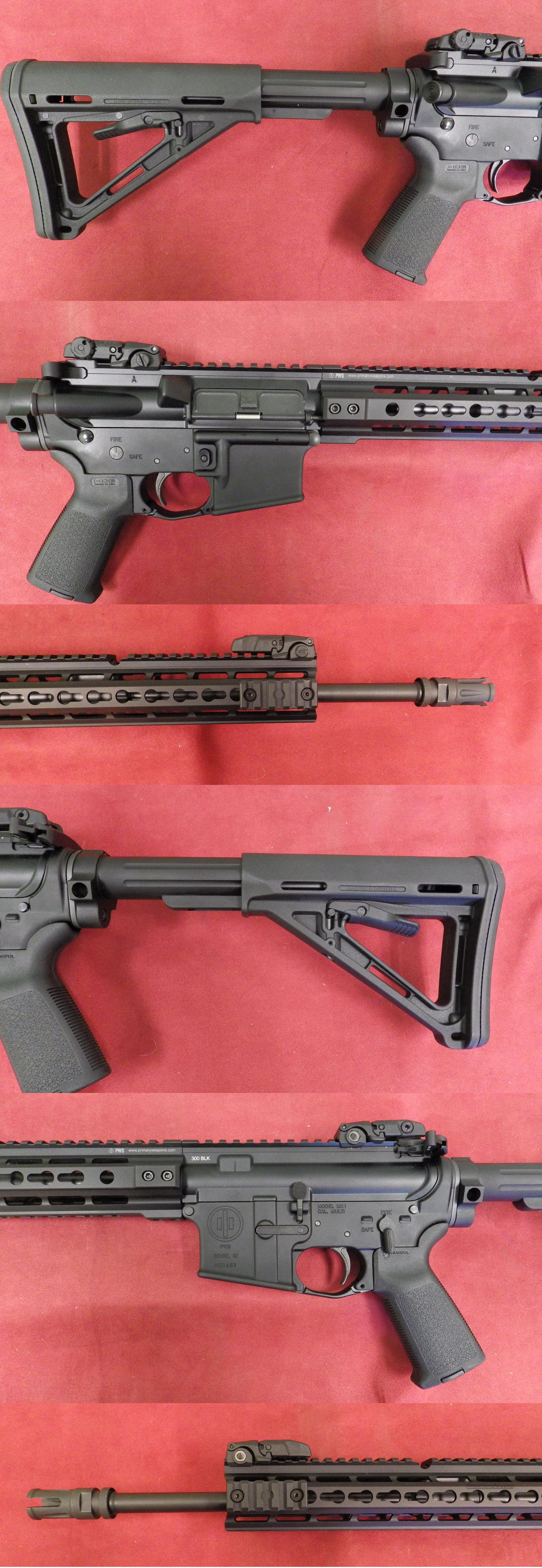 Primary Weapons Systems MK-I .300 Blackout *MUST CALL*  Guns > Rifles > PQ Misc Rifles