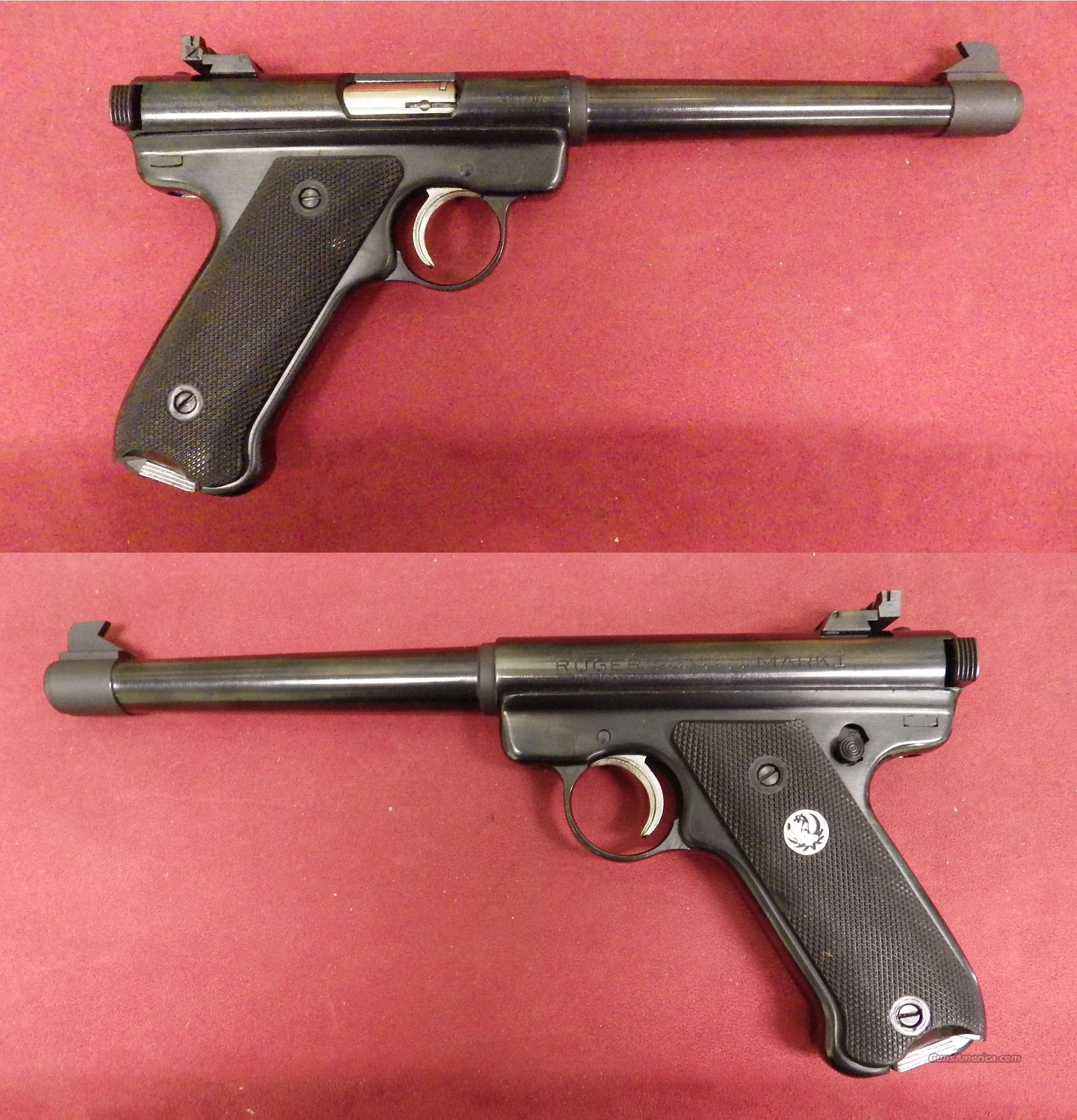 Ruger Mark I .22LR  *MUST CALL*  Guns > Pistols > Ruger Semi-Auto Pistols > Mark I/II/III/IV Family