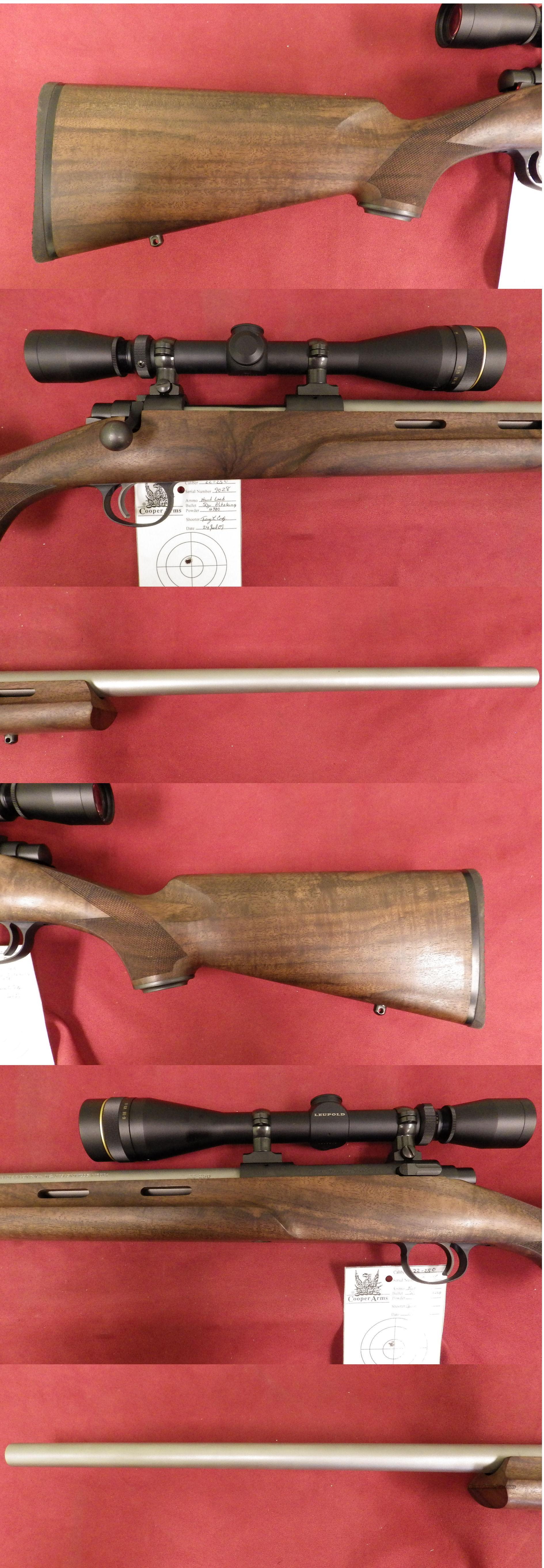 Cooper M22 22-250 Remington *MUST CALL*  Guns > Rifles > Cooper Arms Rifles