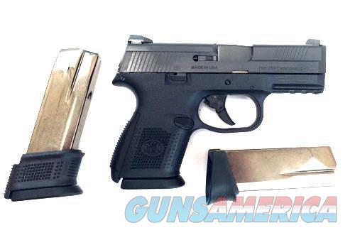 FN FNS-9 Compact, Black  Guns > Pistols > FNH - Fabrique Nationale (FN) Pistols > FNS
