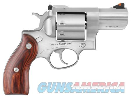 Ruger Redhawk Double Action .357 Mag 2.75 in barrel.  Guns > Pistols > Ruger Double Action Revolver > Redhawk Type