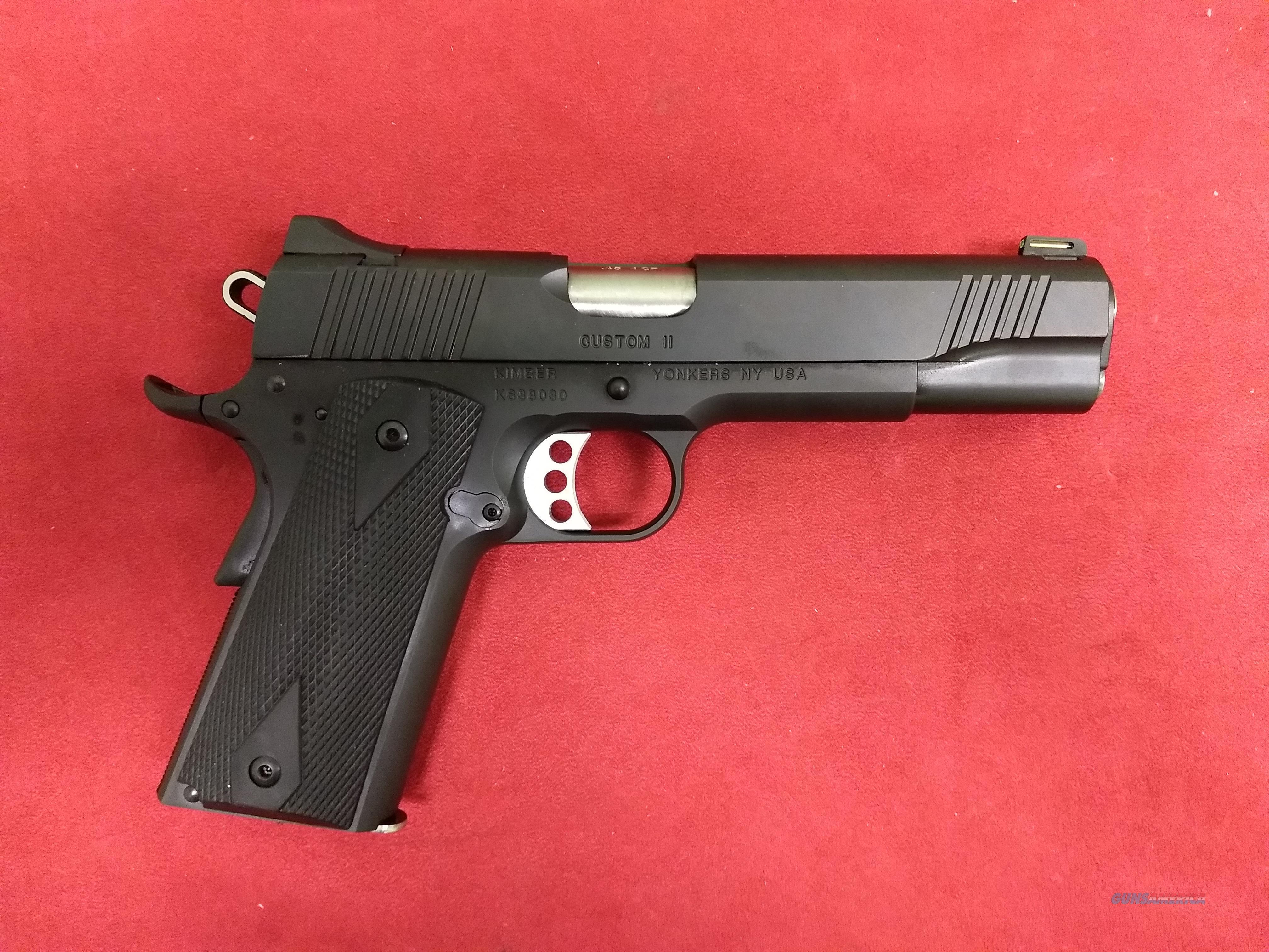 Special Edition Kimber Custom II, .45 ACP, NIB  Guns > Pistols > Kimber of America Pistols > 1911