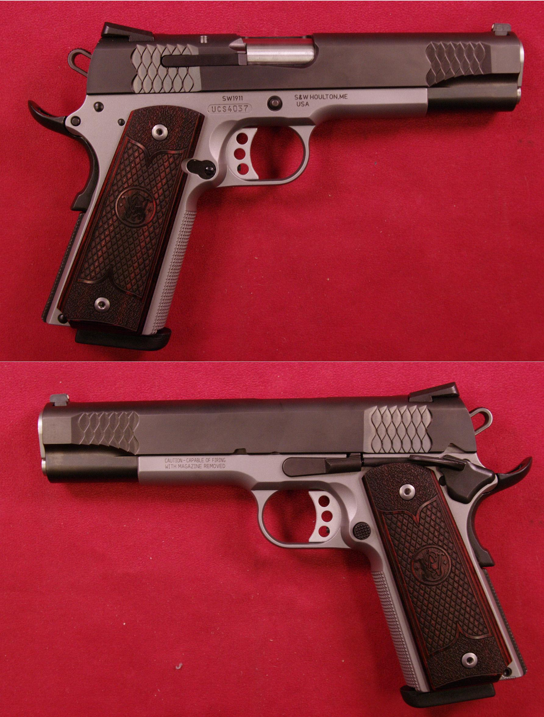 Smith & Wesson 1911 .45 ACP  Guns > Pistols > Smith & Wesson Pistols - Autos > Steel Frame