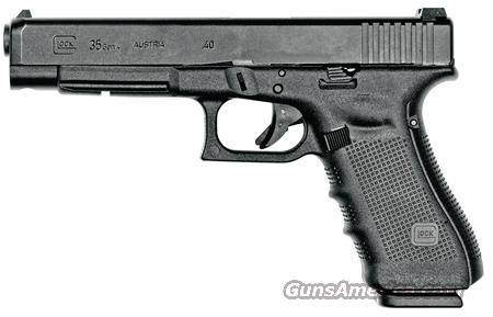 Glock Gen4 Model 35 40 S&W *MUST CALL*  Guns > Pistols > Glock Pistols > 35