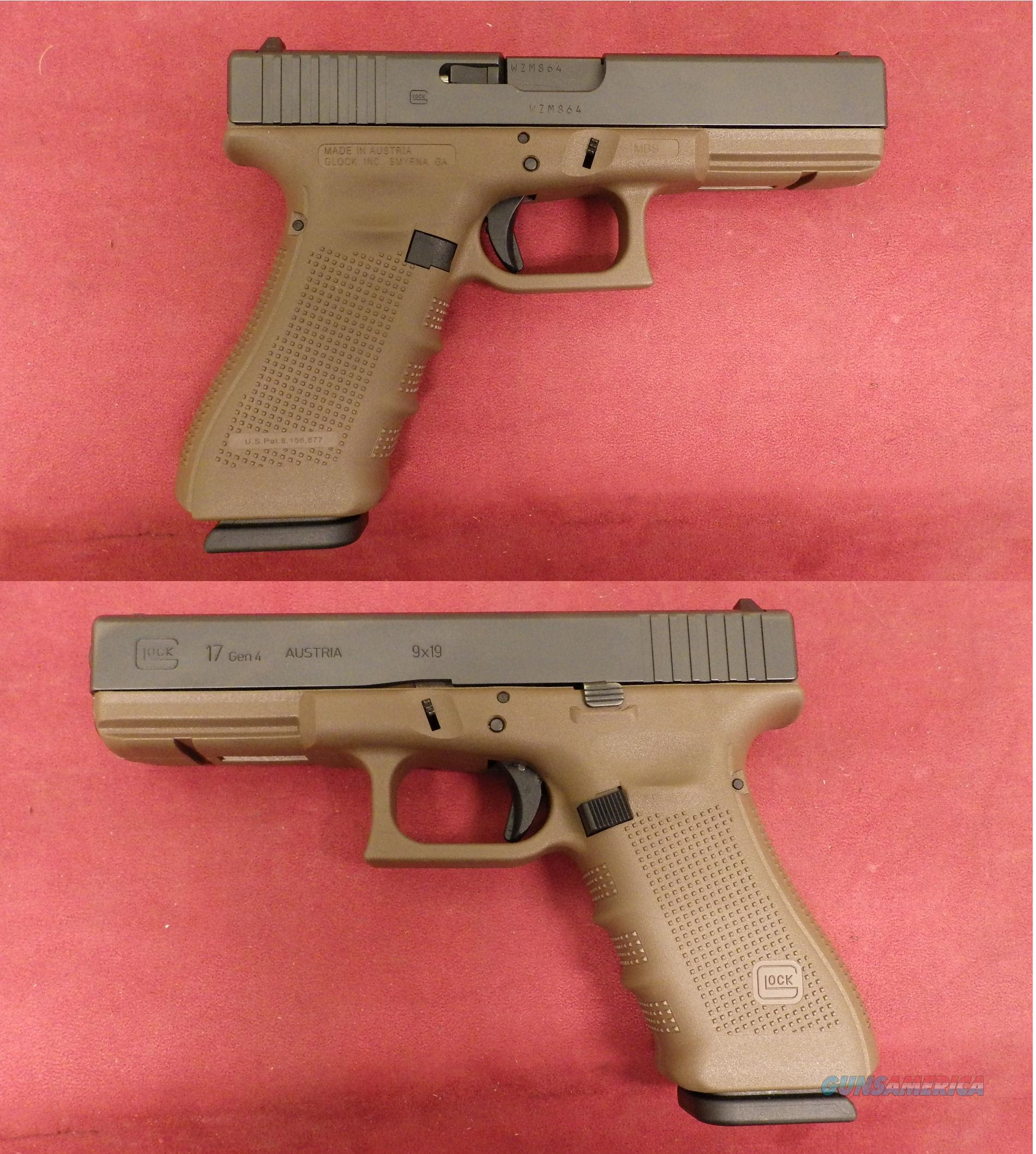 Glock G-17 4th Gen 9mm  Guns > Pistols > Glock Pistols > 17