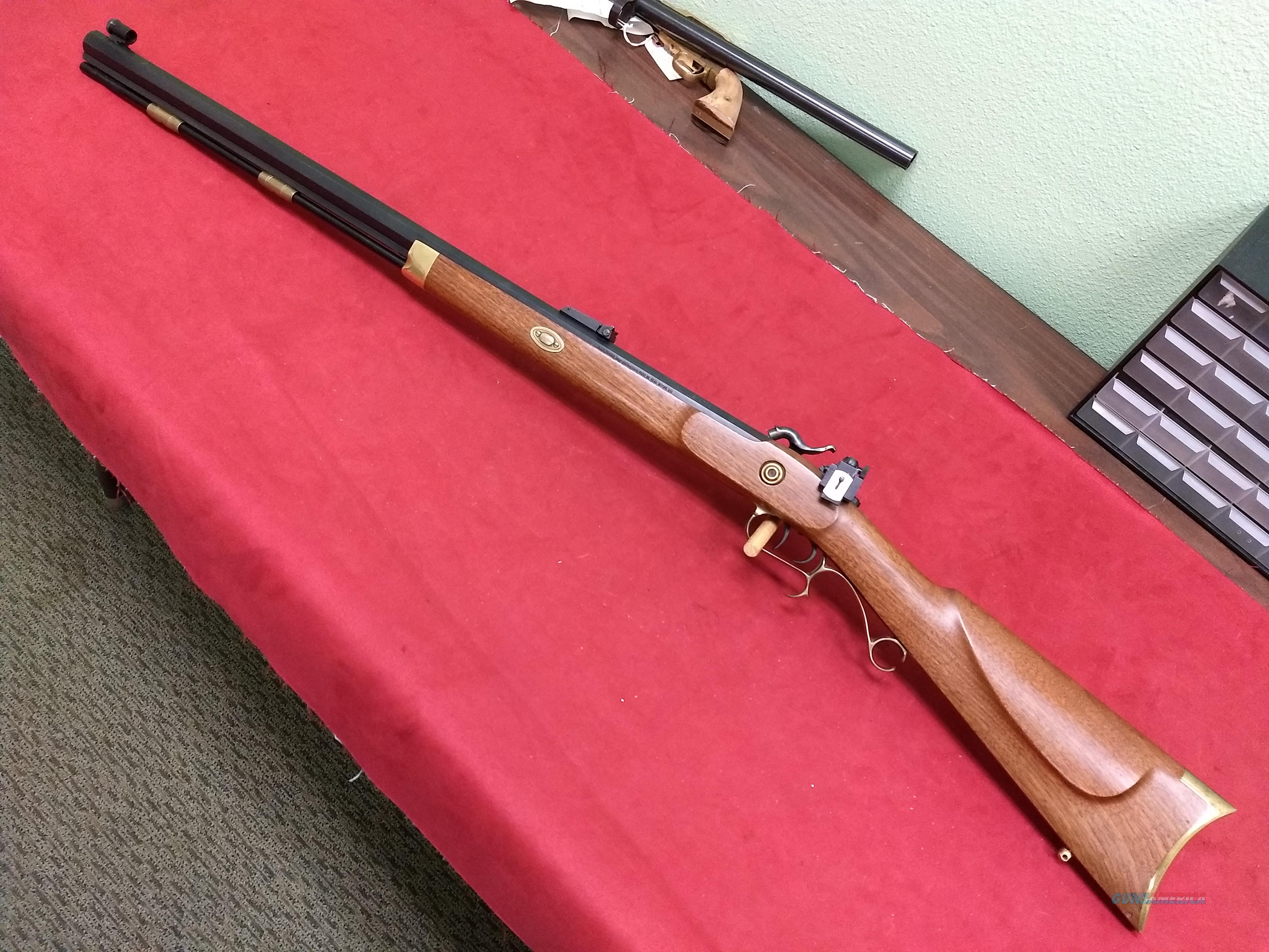T/C Hawken Style Muzzleloader, .50 Caliber, Peep Sights  Guns > Rifles > Thompson Center Muzzleloaders > Hawken Style