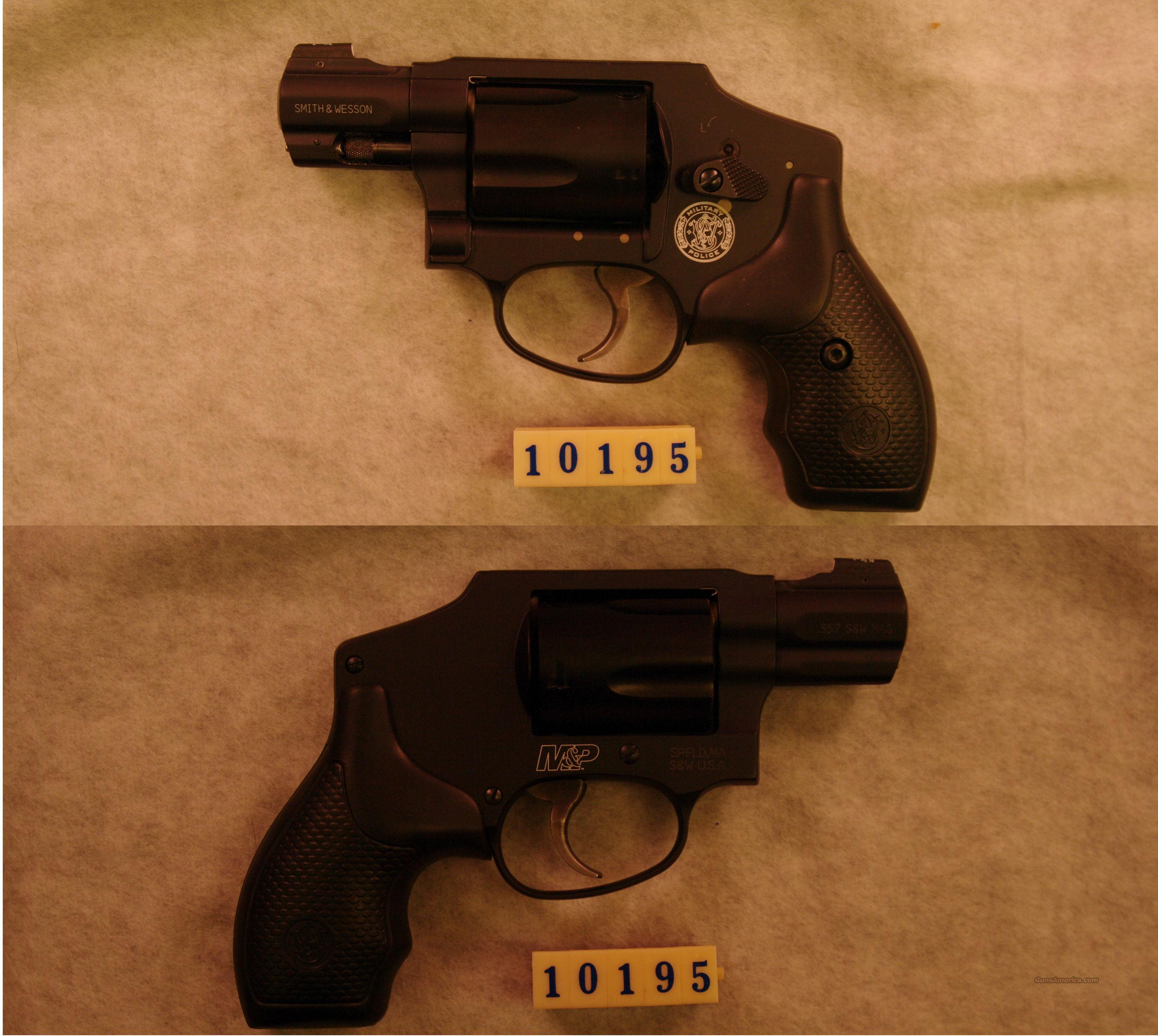 Smith & Wesson M&P 340 .357 Magnum  Guns > Pistols > Smith & Wesson Revolvers > Pocket Pistols