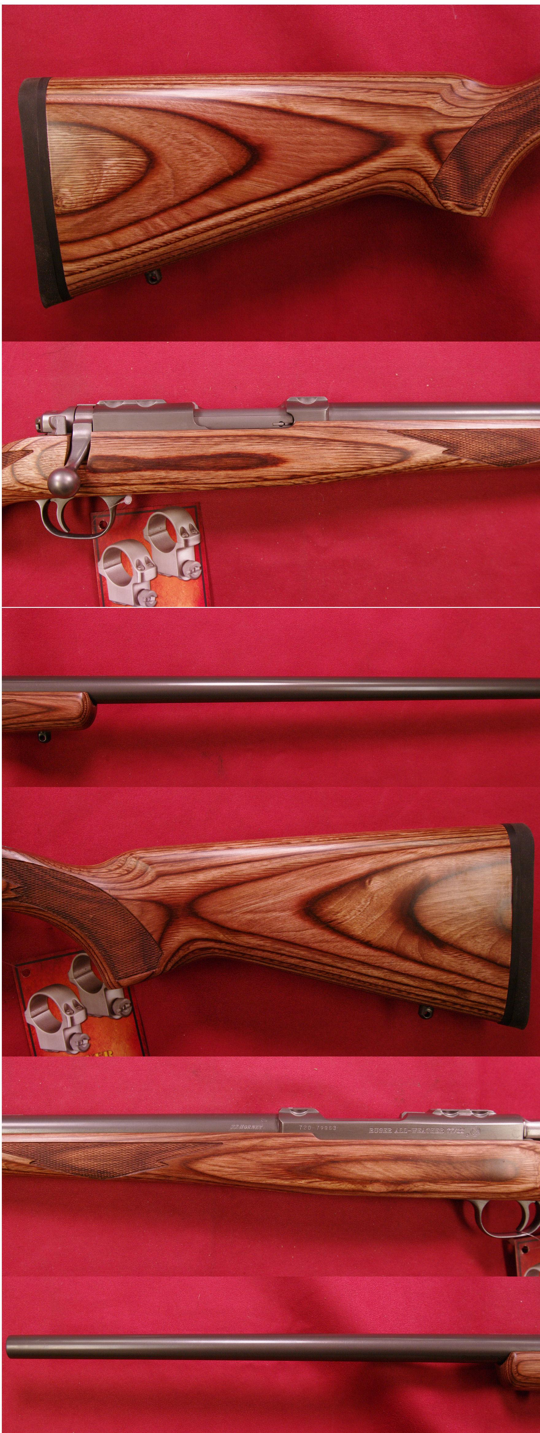 RUGER Model 77/22 .22 Hornet  Guns > Rifles > Ruger Rifles > Model 77