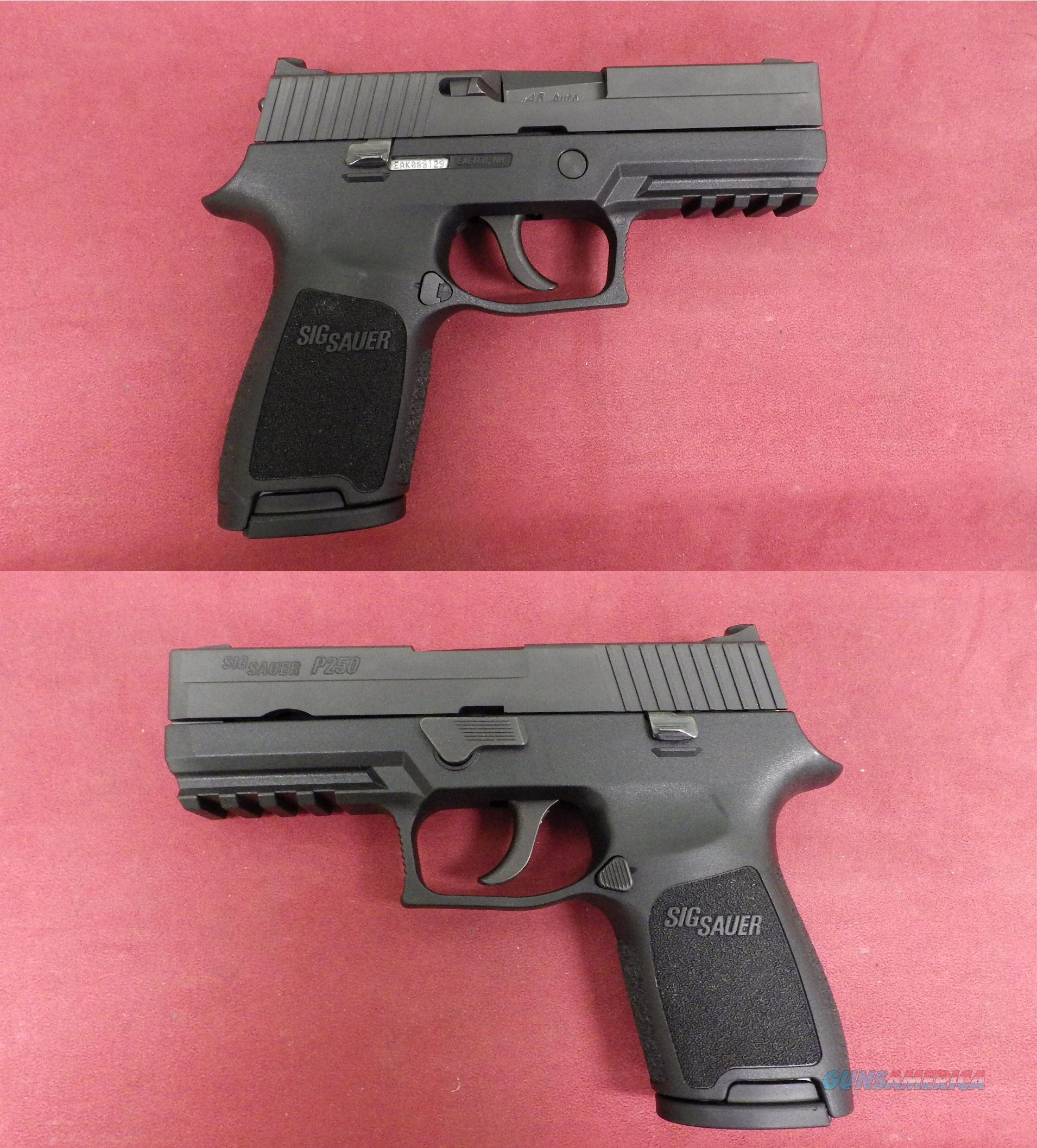 Sig Sauer P250 .45 ACP *MUST CALL*  Guns > Pistols > Sig - Sauer/Sigarms Pistols > P250