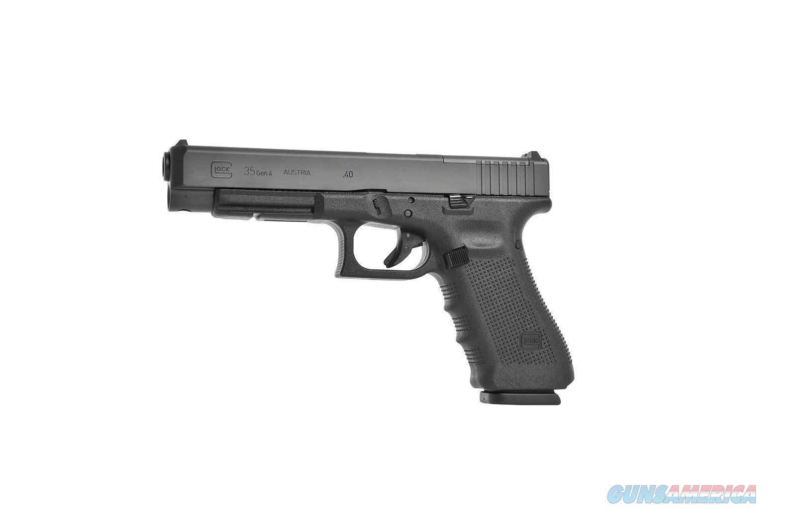 Glock 35 Gen 4 M.O.S., 40 S&W, NIB   Guns > Pistols > Glock Pistols > 35