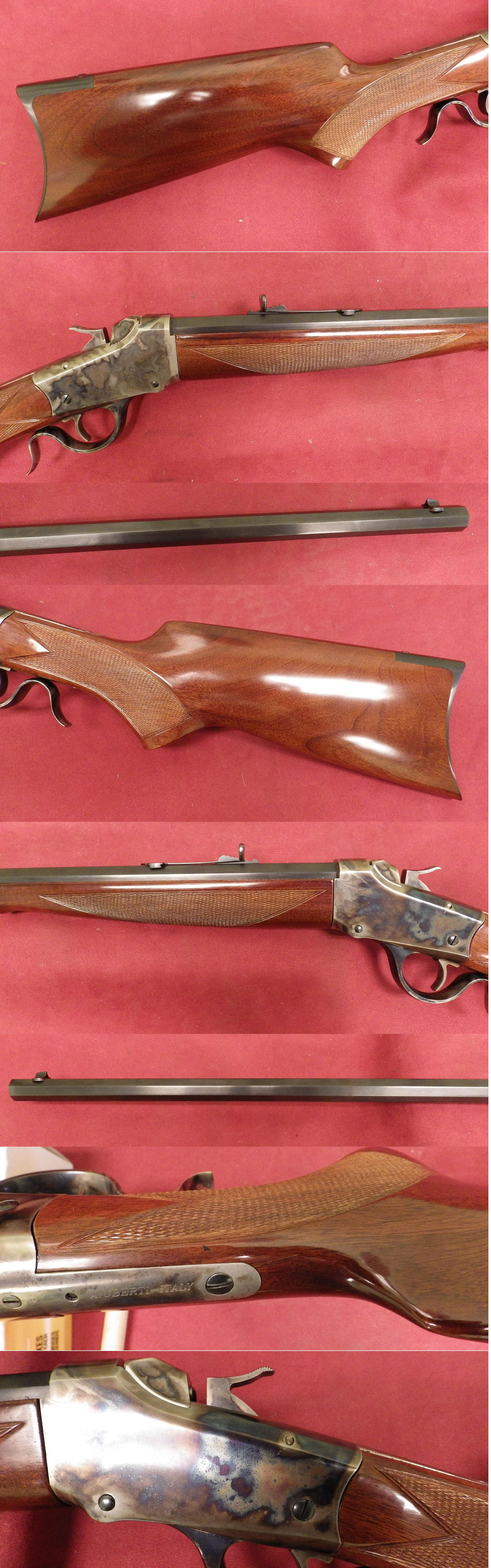 Uberti 1885 Low Wall .22 LR  Guns > Rifles > Uberti Rifles > Single Shot
