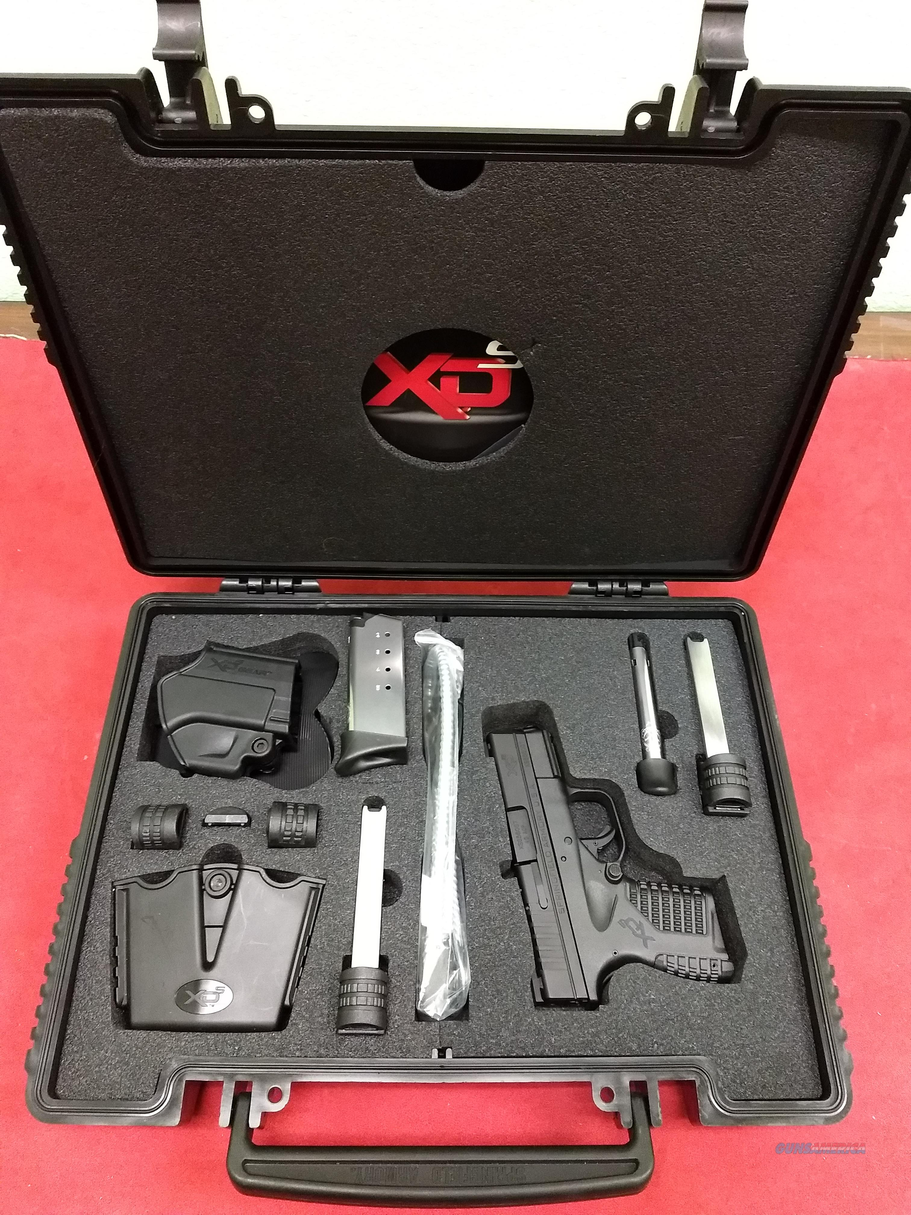 Springfield Armory XDS-45 w/ Gear Pack, .45 ACP, Never Fired!  Guns > Pistols > Springfield Armory Pistols > XD-S