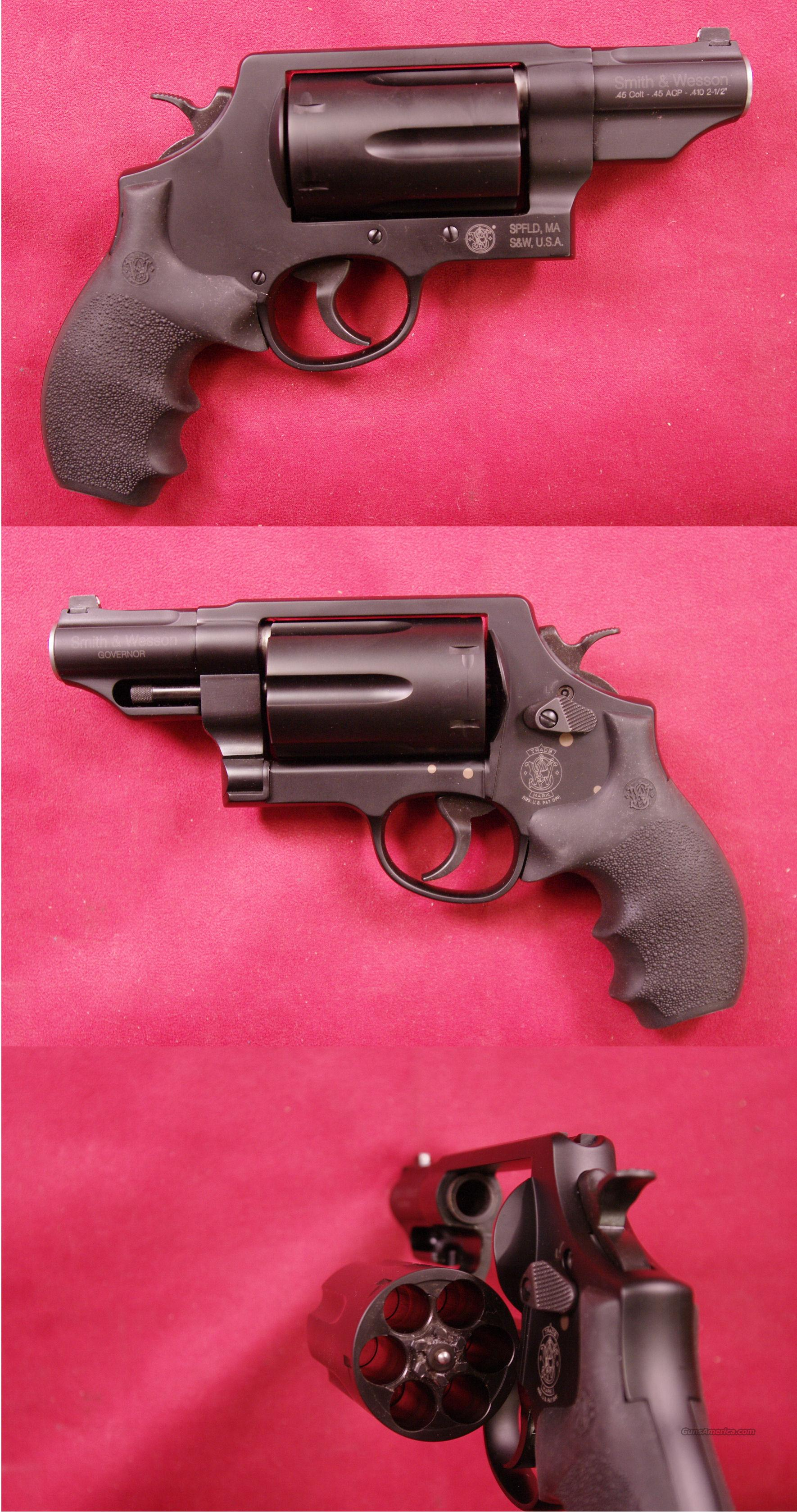 Smith & Wesson Governor .45ACP/45COLT/.410  Guns > Pistols > Smith & Wesson Revolvers > Full Frame Revolver