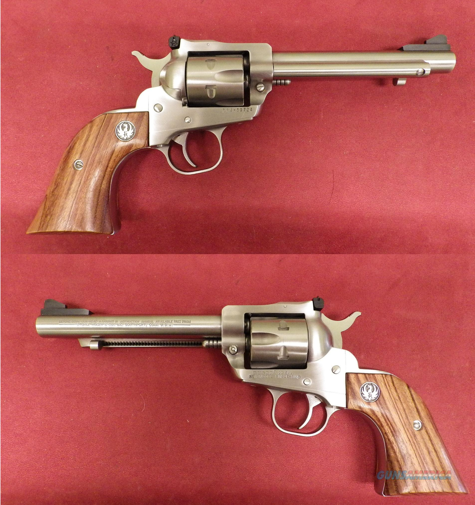 Ruger New Model Single Six  .22LR/.22WMR  *MUST CALL*  Guns > Pistols > Ruger Single Action Revolvers > Single Six Type