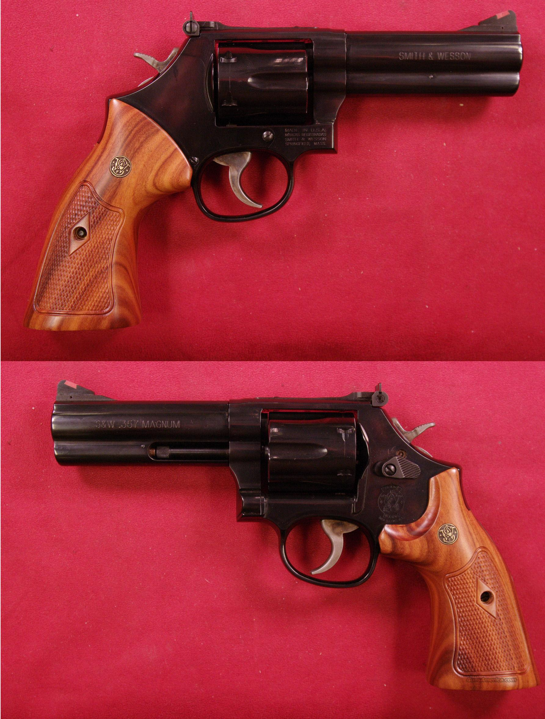 SMITH & WESSON 586  .357 Magnum   Guns > Pistols > Smith & Wesson Revolvers > Full Frame Revolver