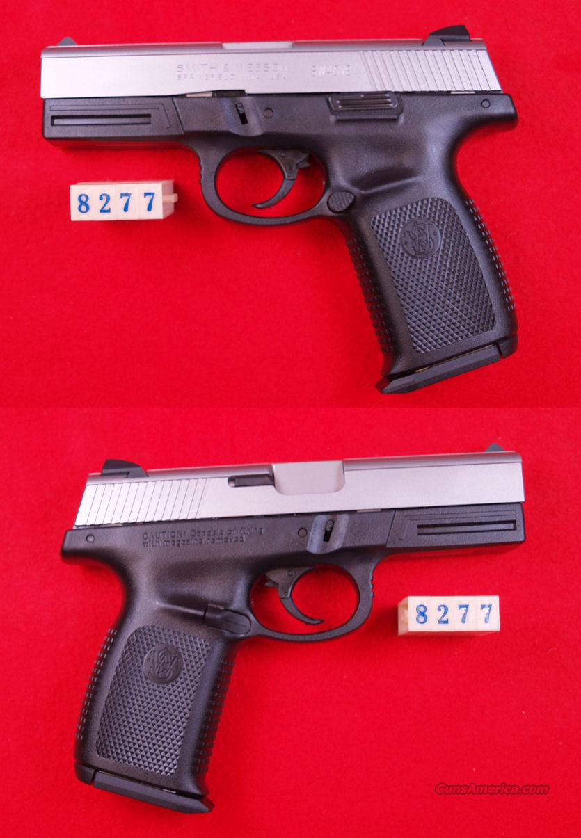 S&W  SW40VE  40S&W  Guns > Pistols > Smith & Wesson Pistols - Autos > Polymer Frame