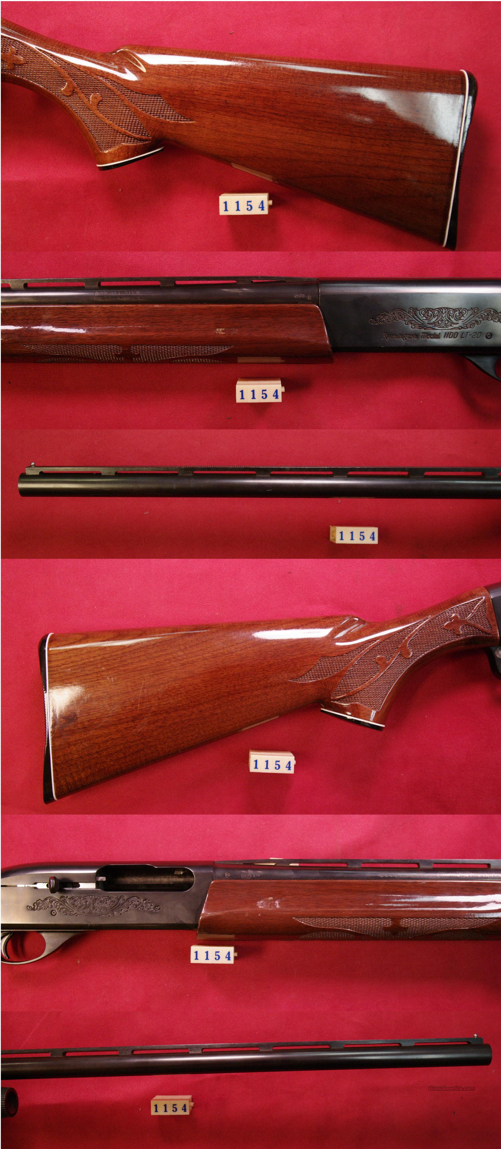 Remington 1100 LT 20ga   Guns > Shotguns > Remington Shotguns  > Autoloaders > Hunting