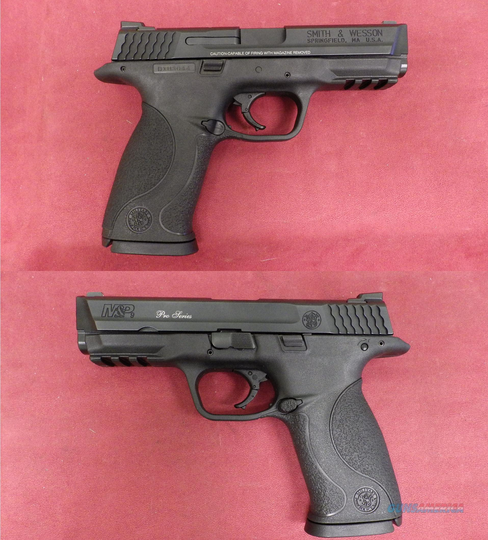 Smith & Wesson Pro Series 9mm  Guns > Pistols > Smith & Wesson Pistols - Autos > Polymer Frame