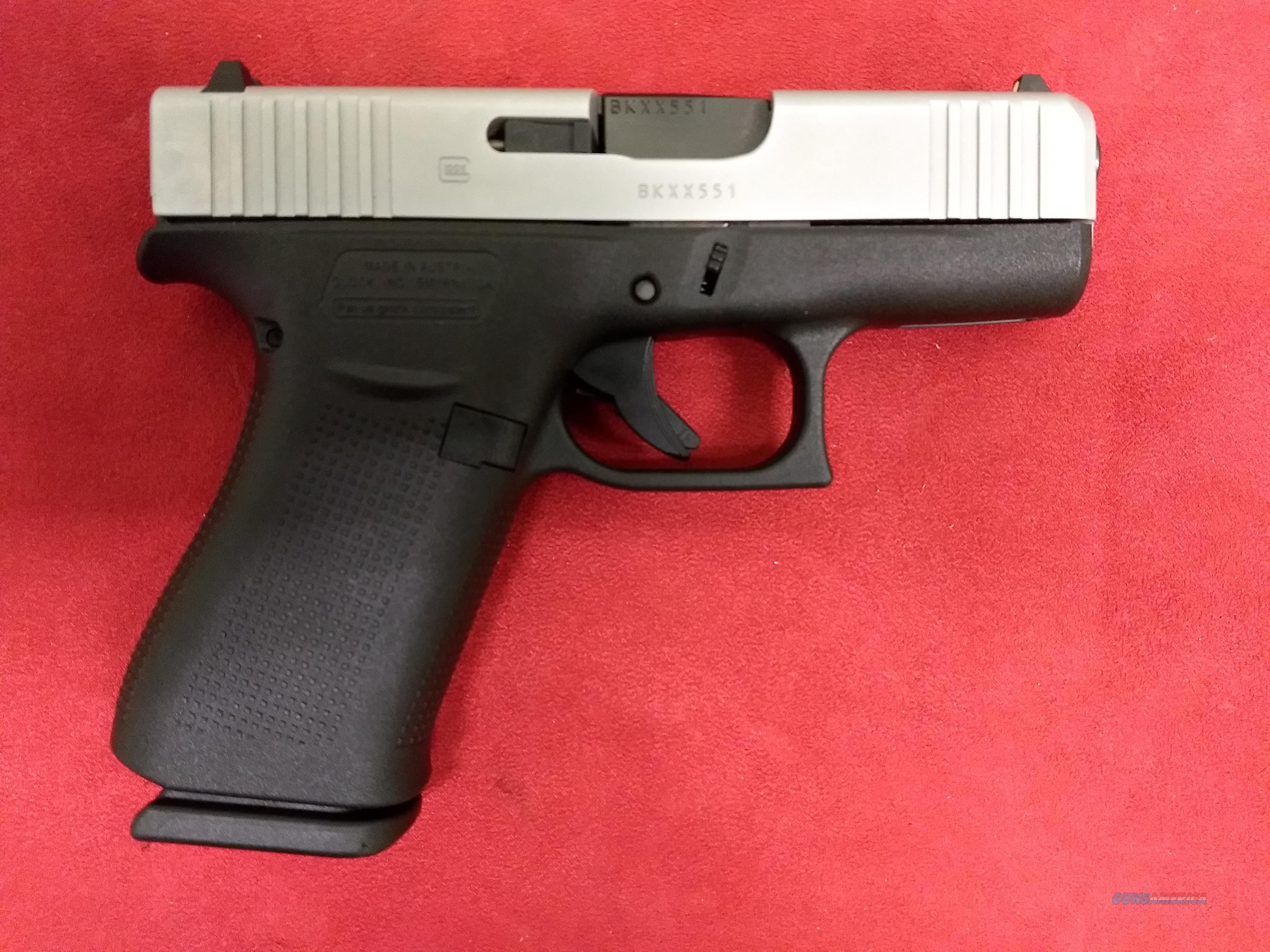 Glock Model 43X, 9mm, Two-Tone, NIB  Guns > Pistols > Glock Pistols > 43/43X