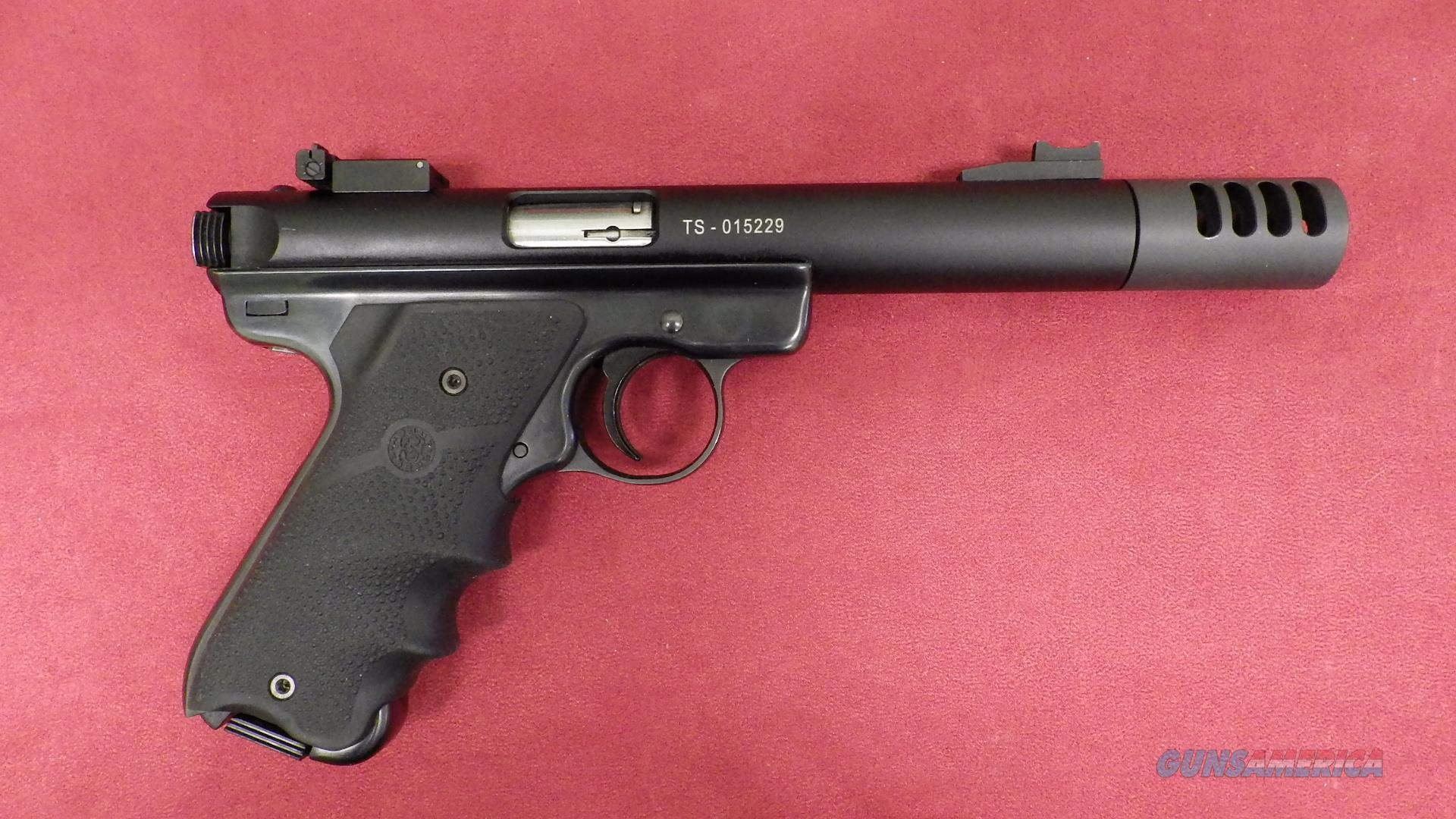 Ruger Mark III with Tactical Solutions Barrel  Guns > Pistols > Ruger Semi-Auto Pistols > Mark I/II/III Family