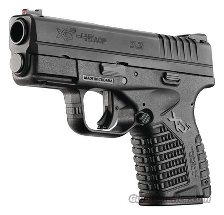 Springfield Armory XDS Models .45ACP  Guns > Pistols > Springfield Armory Pistols > XD-S