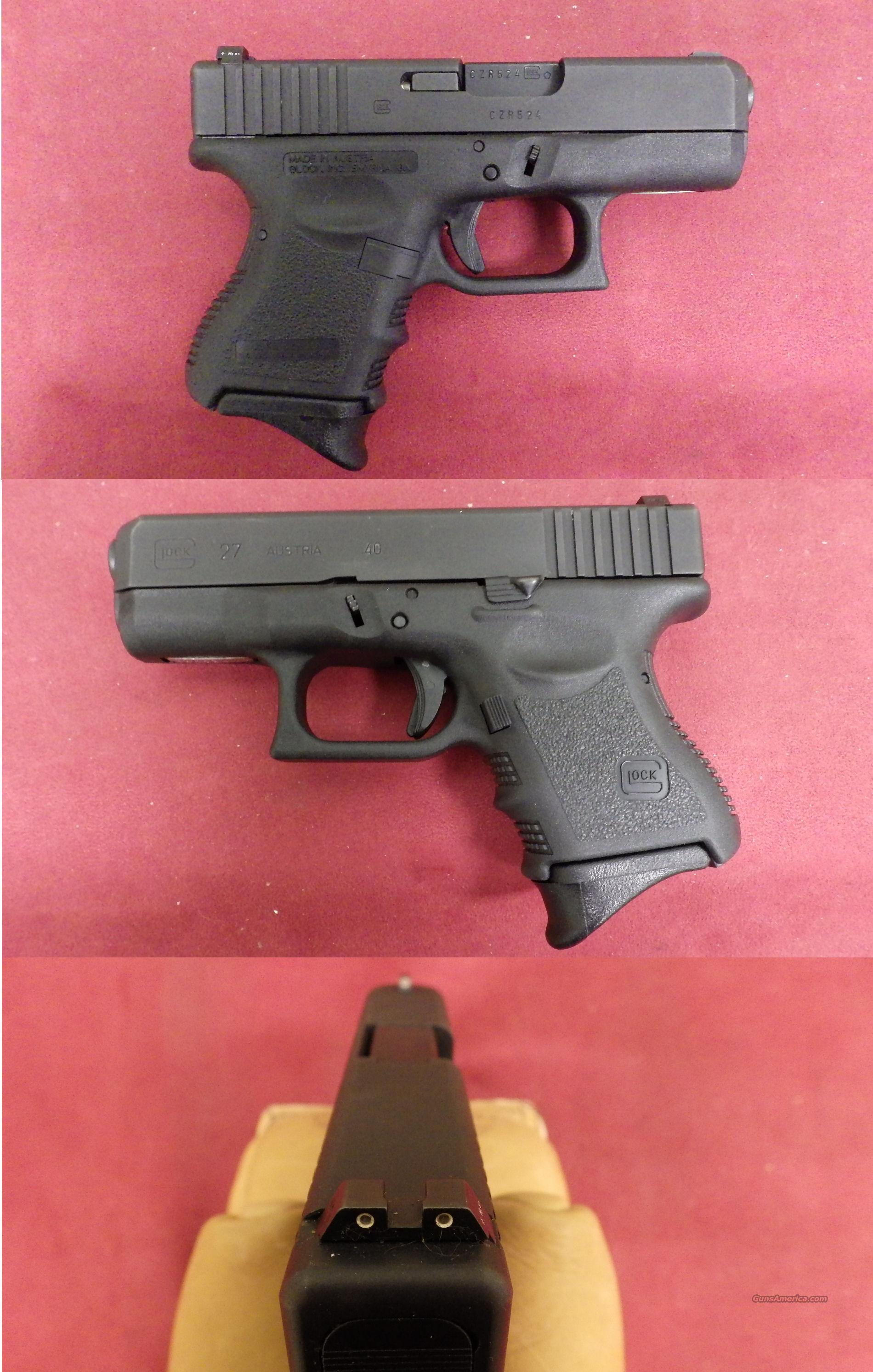 Glock Model 27 40 S&W *MUST CALL*  Guns > Pistols > Glock Pistols > 26/27