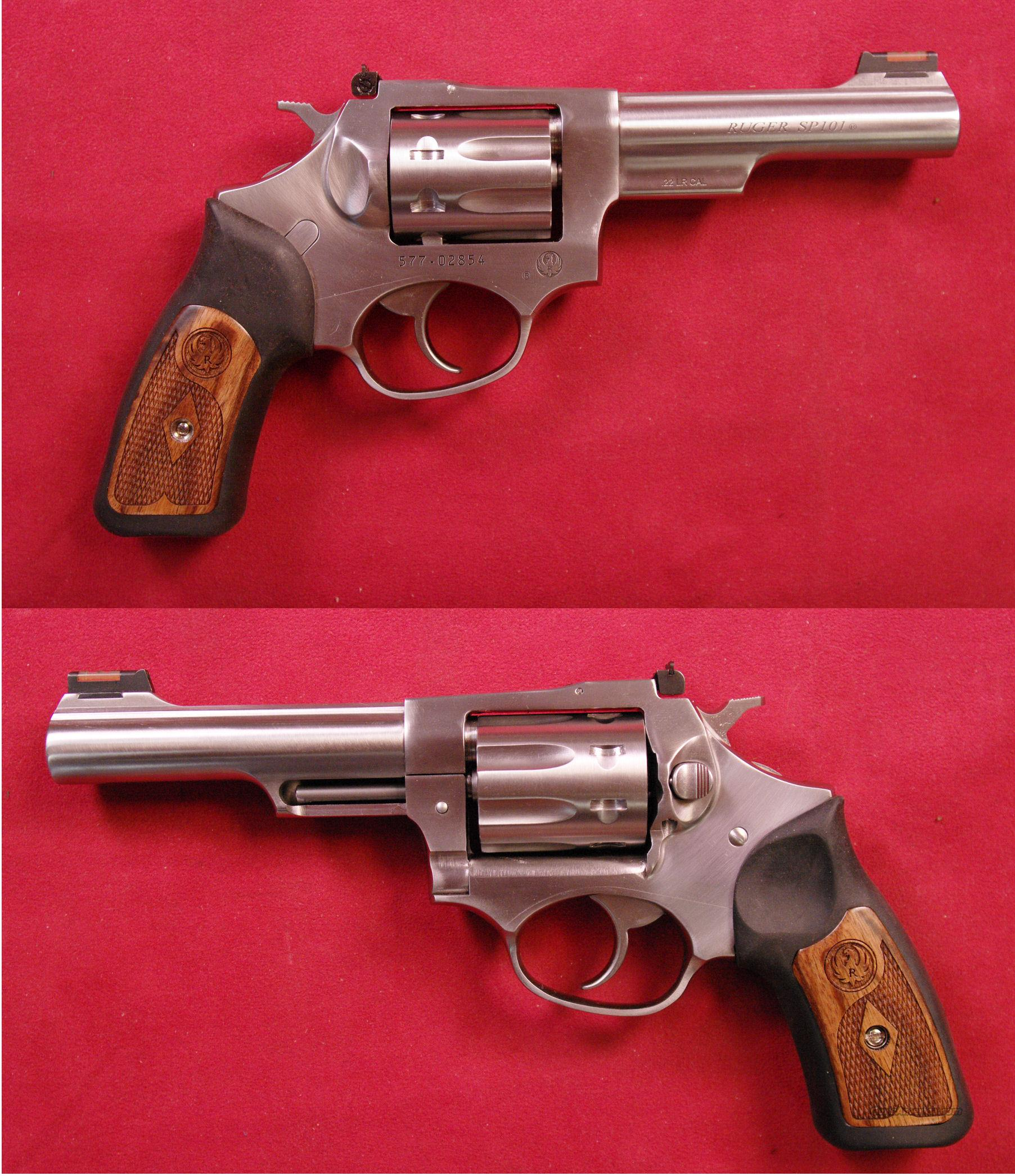 Ruger SP-101 .22 LR  Guns > Pistols > Ruger Double Action Revolver > SP101 Type