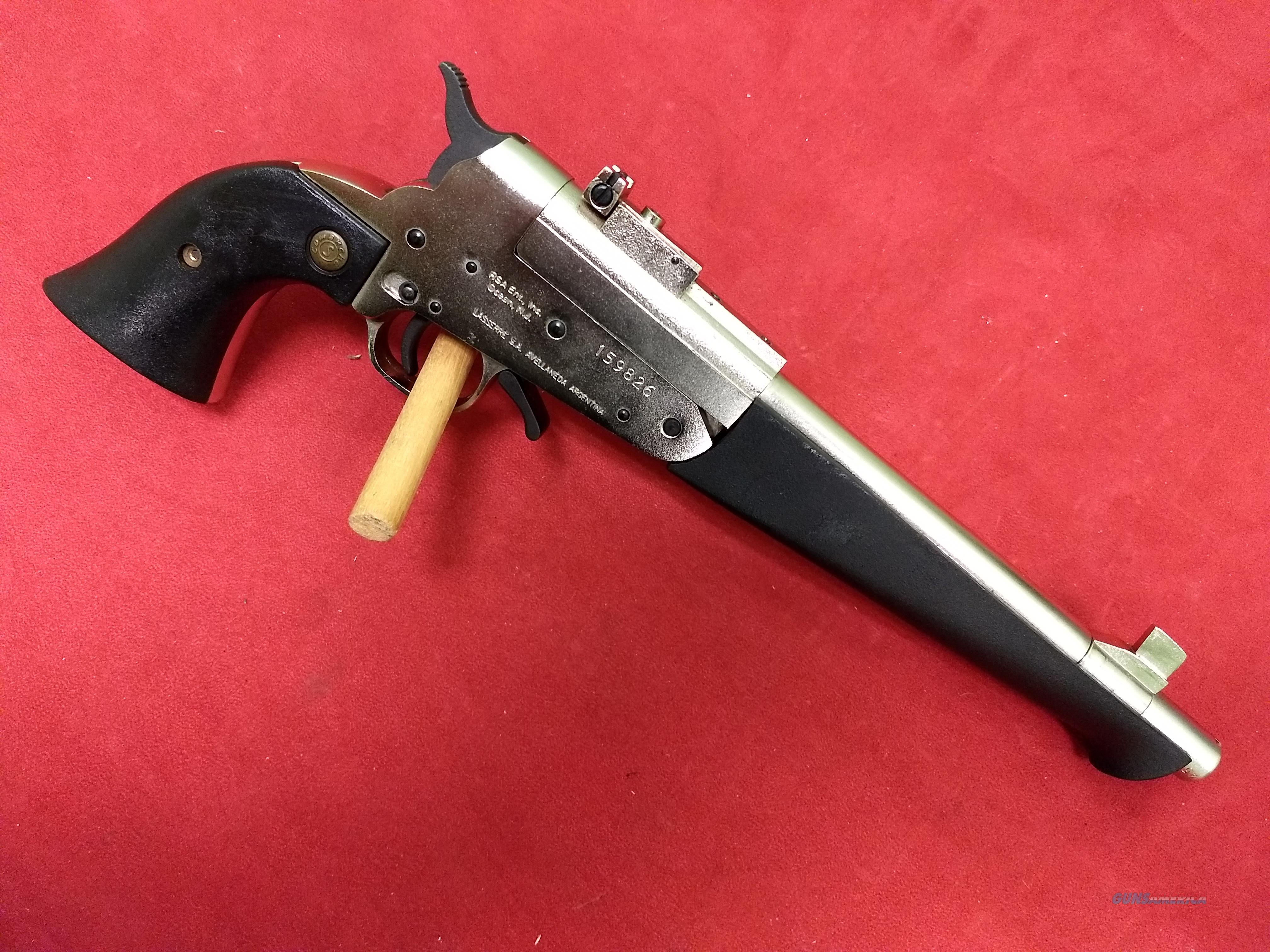 RSA Ent. Inc. Super Comanche single shot pistol in .45 Colt/.410  Guns > Pistols > R Misc Pistols