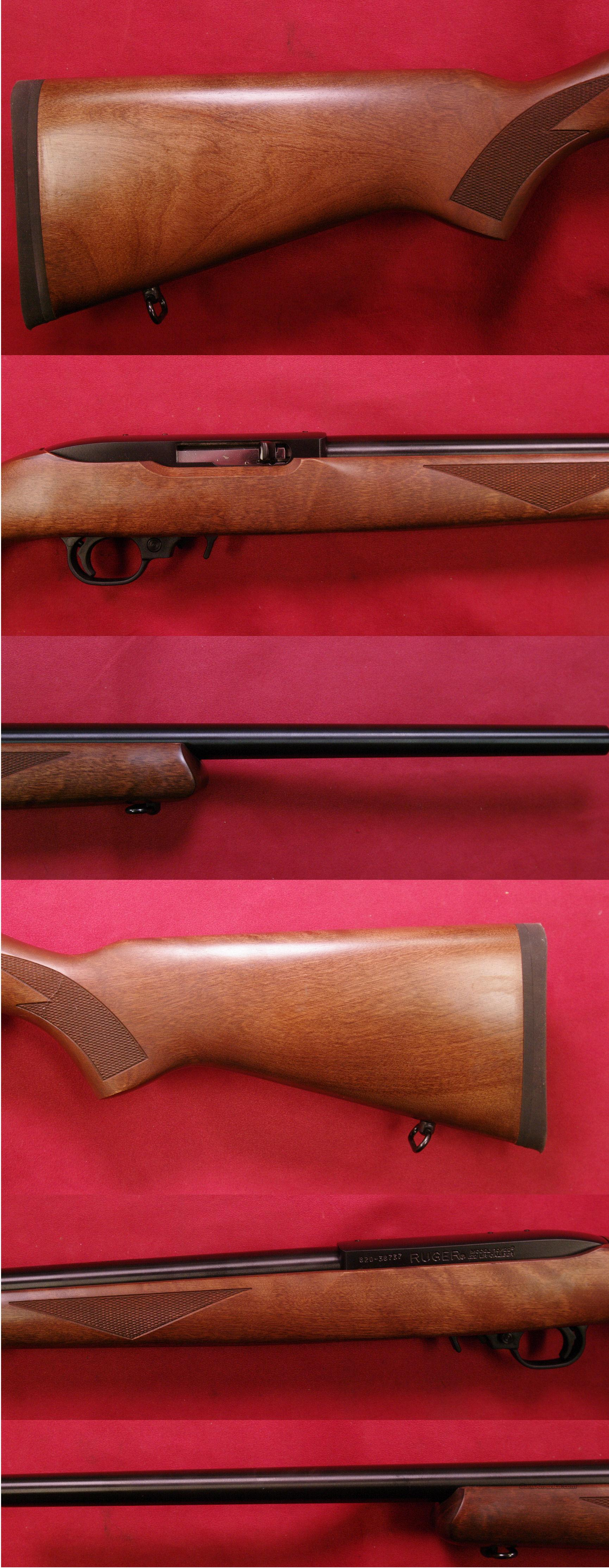 RUGER Model 10/22 Light Varmint Target Rifle .22 Long Rifle  Guns > Rifles > Ruger Rifles > 10-22