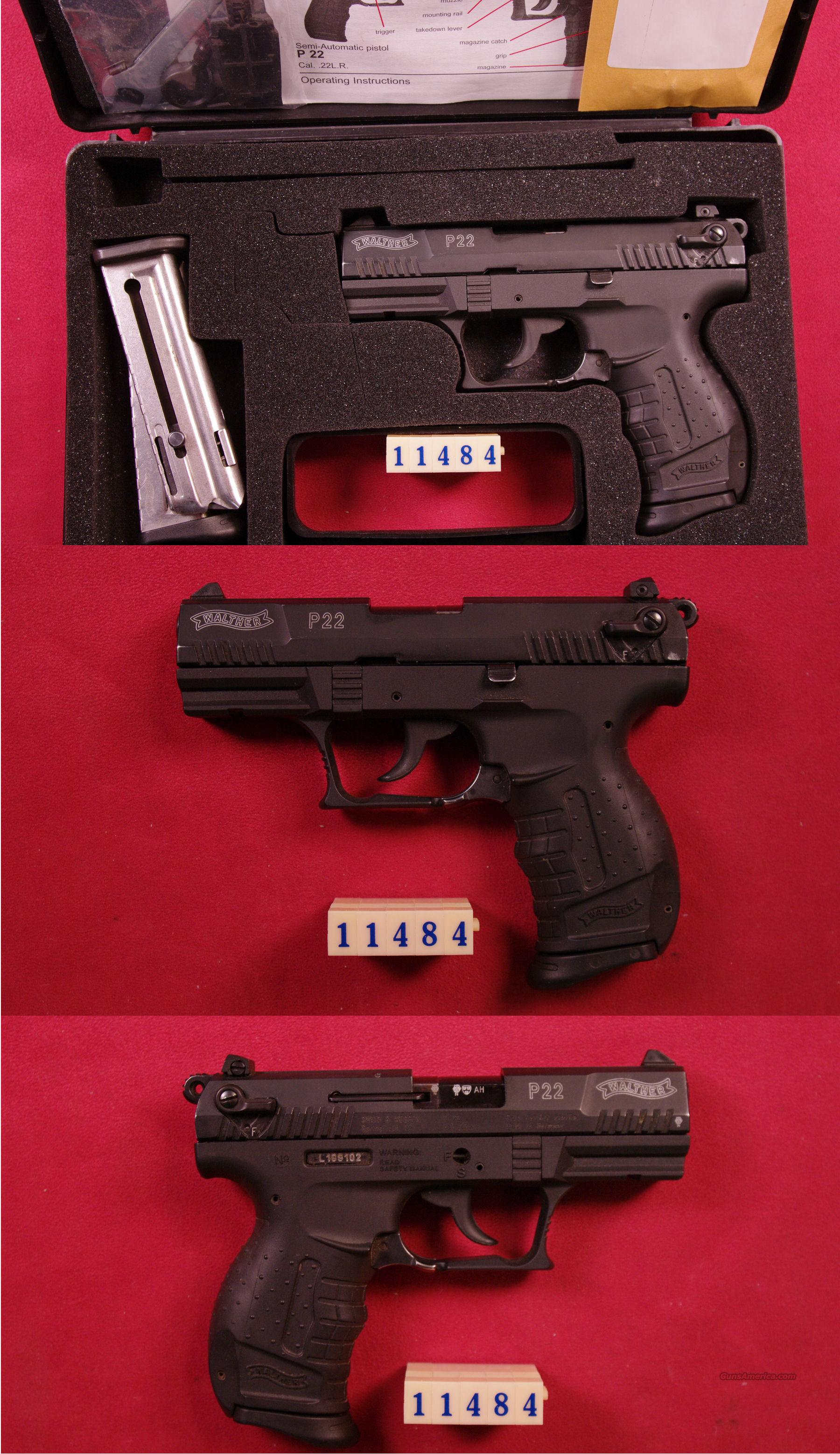 Walther P22 .22LR  Guns > Pistols > Walther Pistols > Post WWII > P22