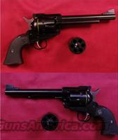 Ruger Blackhawk Convertible 9mm/.357 Mag  Guns > Pistols > Ruger Single Action Revolvers > Blackhawk Type