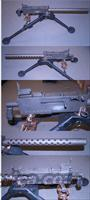 BROWNING M-1919  A4 SEMI MACHINE GUN 30-06  Guns > Rifles > Browning Rifles > Semi Auto > Semi-Auto Machine Gun