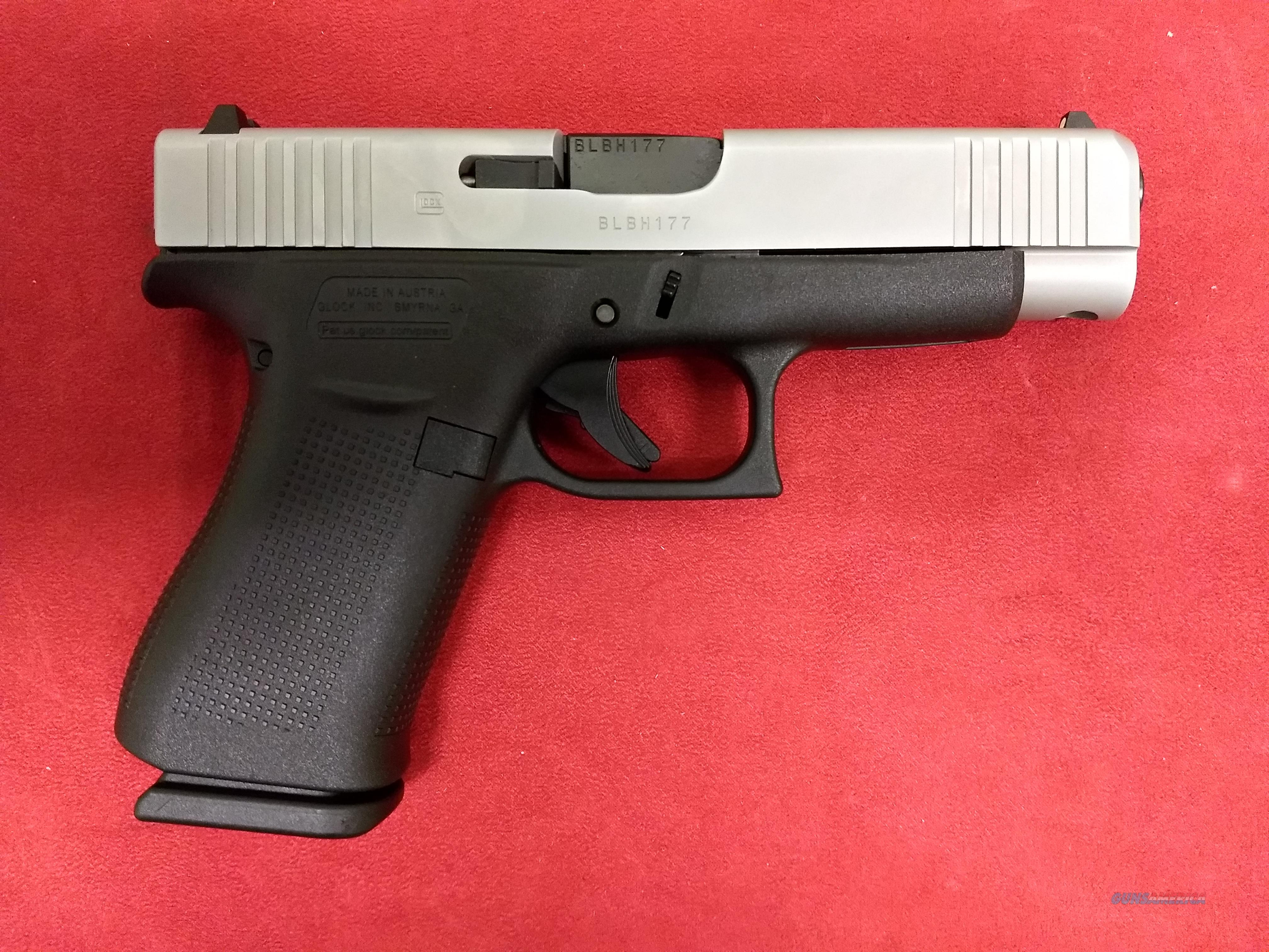 Glock Model 48, 9mm, Two-Tone, NIB  Guns > Pistols > Glock Pistols > 43