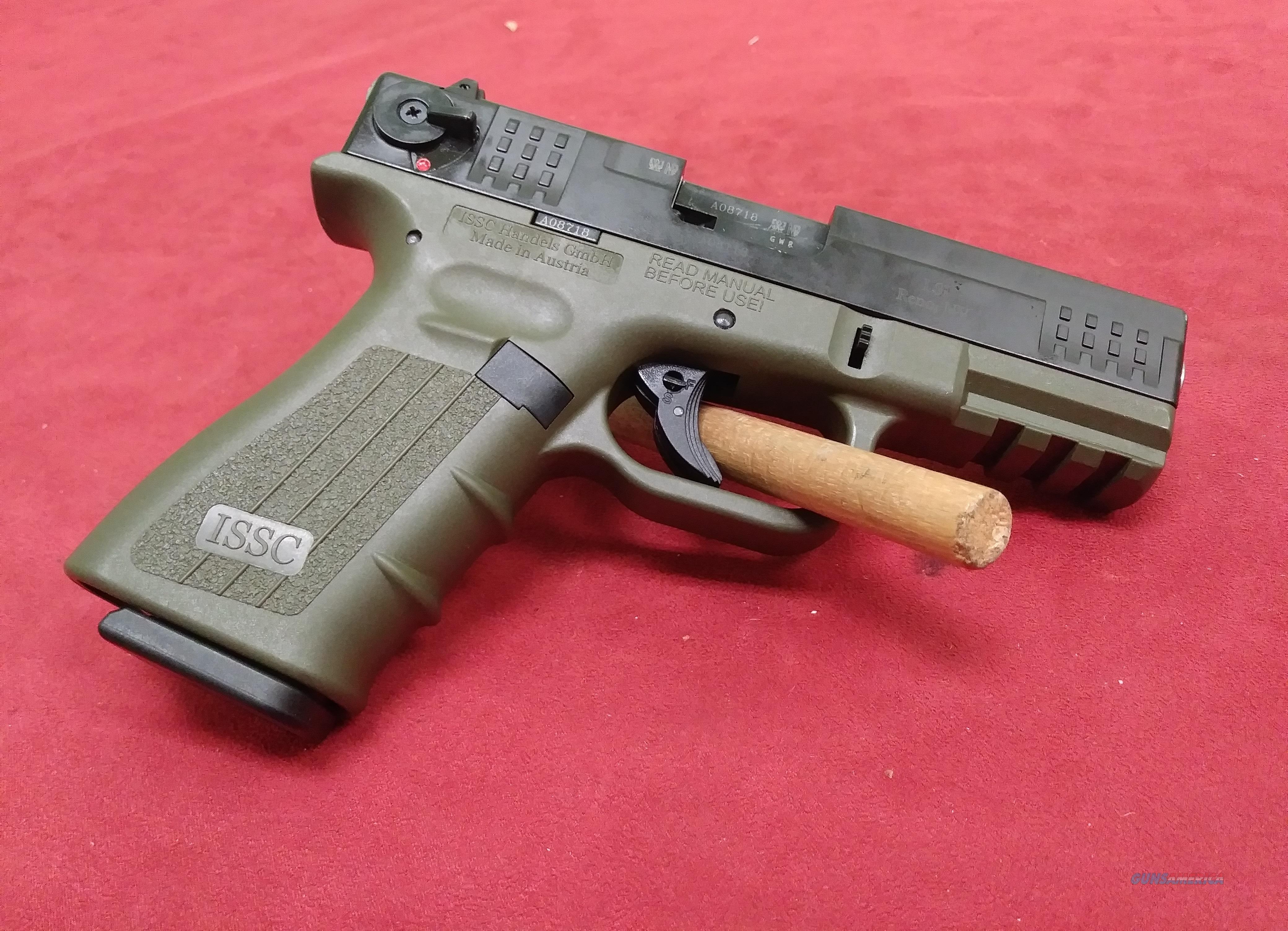ISSC/LSI M22, .22LR  Guns > Pistols > ISSC Pistols