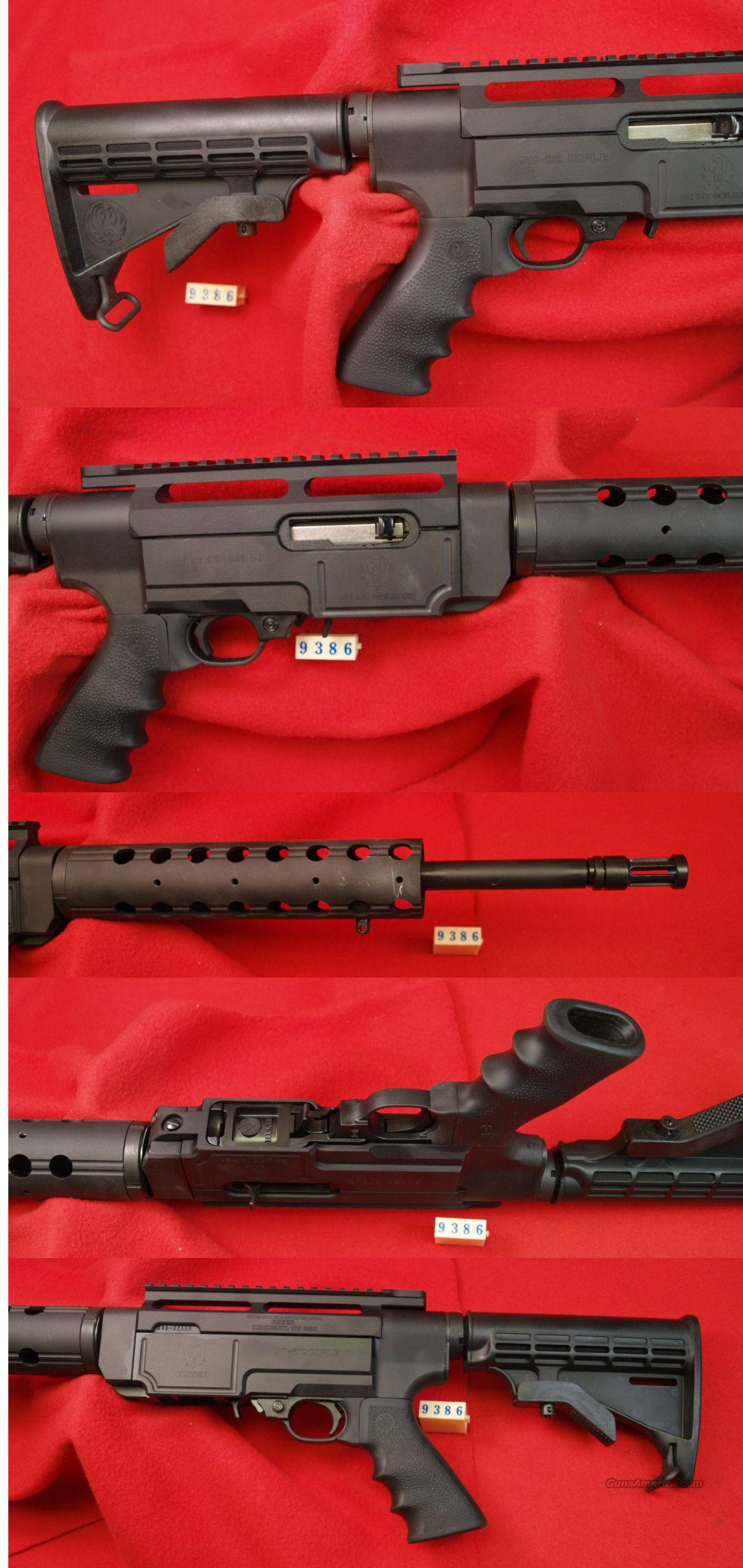RUGER M-SR-22  22LR  Guns > Rifles > Ruger Rifles > Mini-14 Type