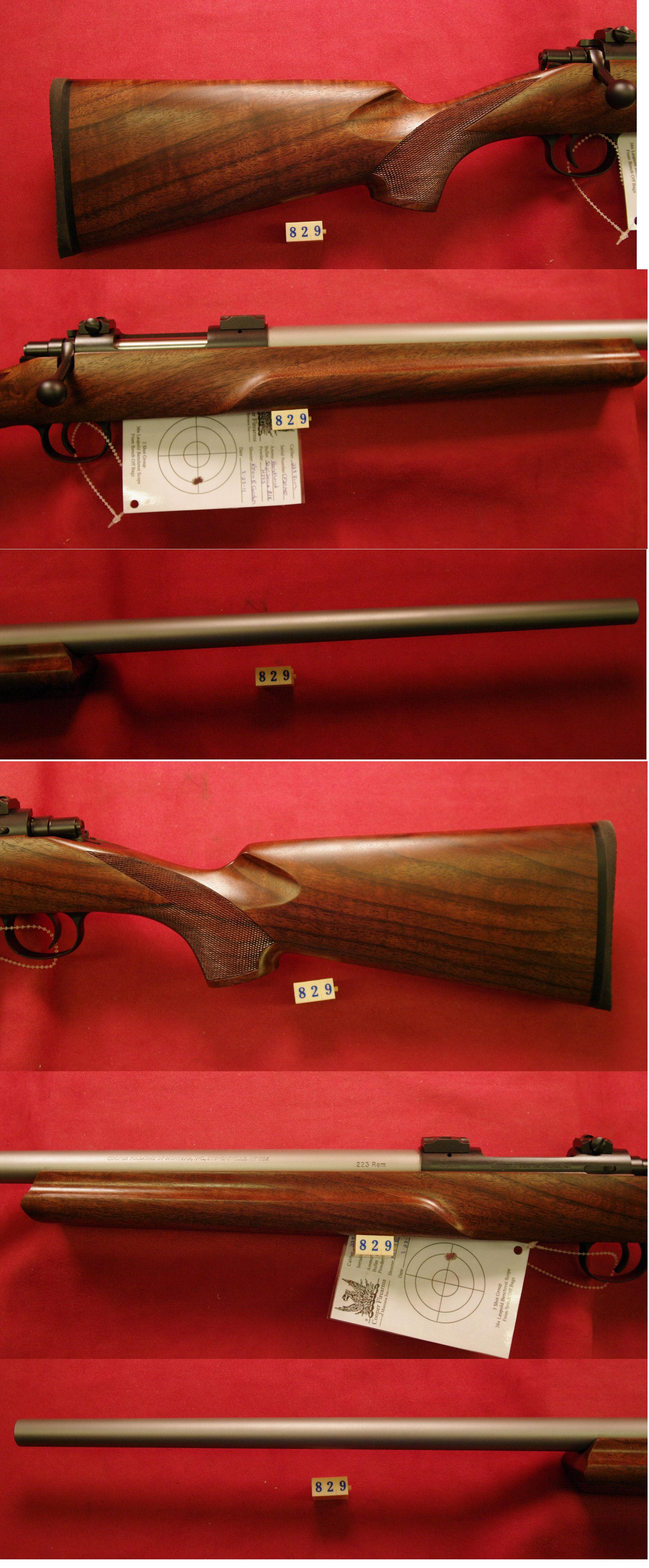 Cooper Varminter M-21 .223  Guns > Rifles > Cooper Arms Rifles
