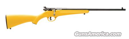 Savage Rascal Yellow .22 S/L/LR  *MUST CALL*  Guns > Rifles > Savage Rifles > Other