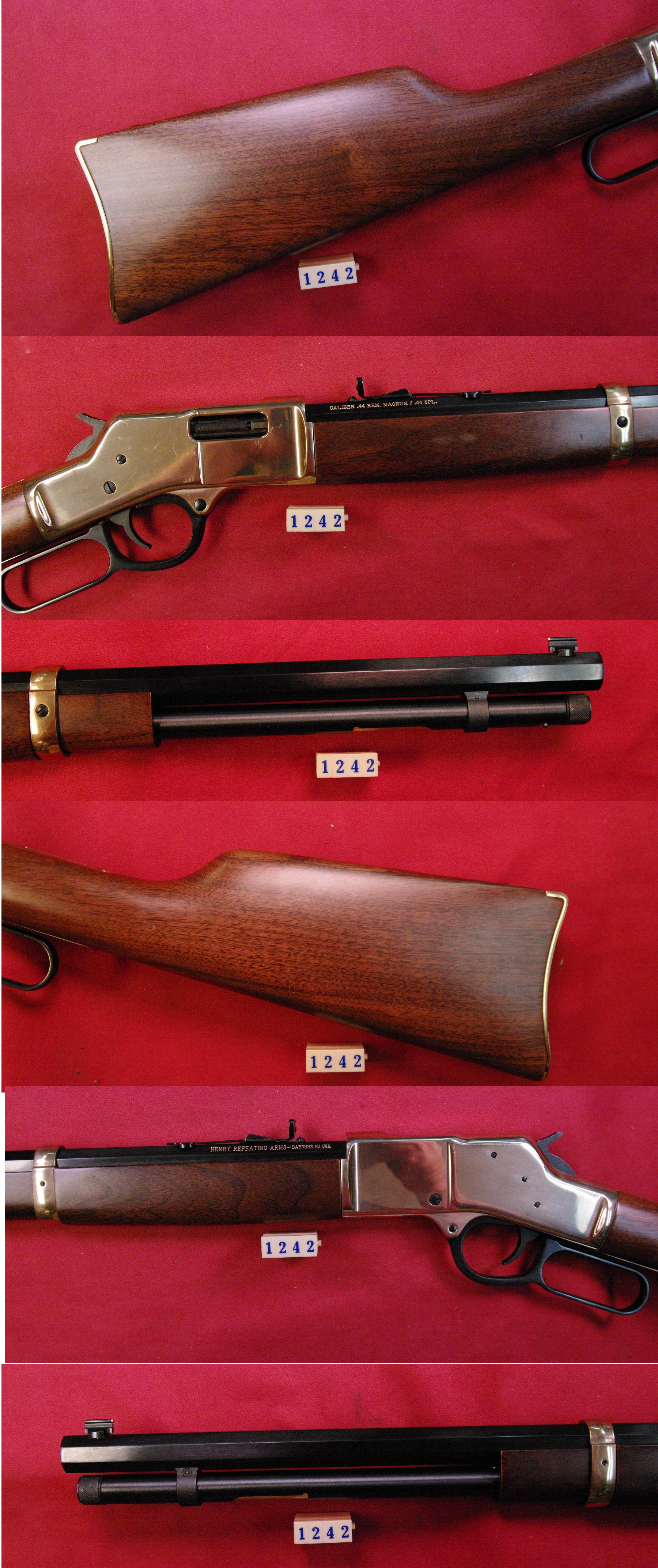 Henry Big Bore .44Spl/44Mag  Guns > Rifles > Henry Rifle Company