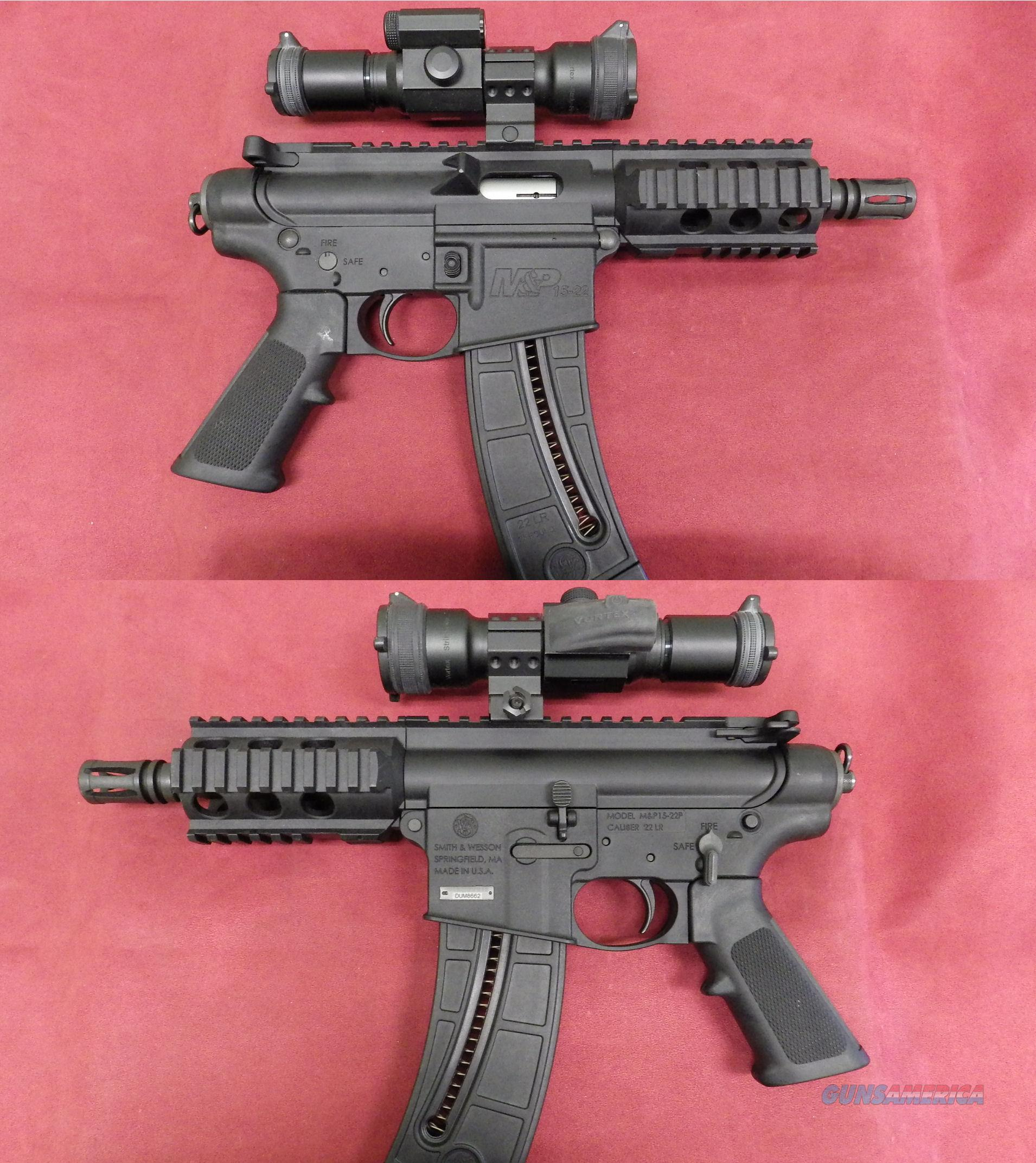 Smith & Wesson M&P 15-22P  *MUST CALL*  Guns > Pistols > Smith & Wesson Pistols - Autos > Polymer Frame