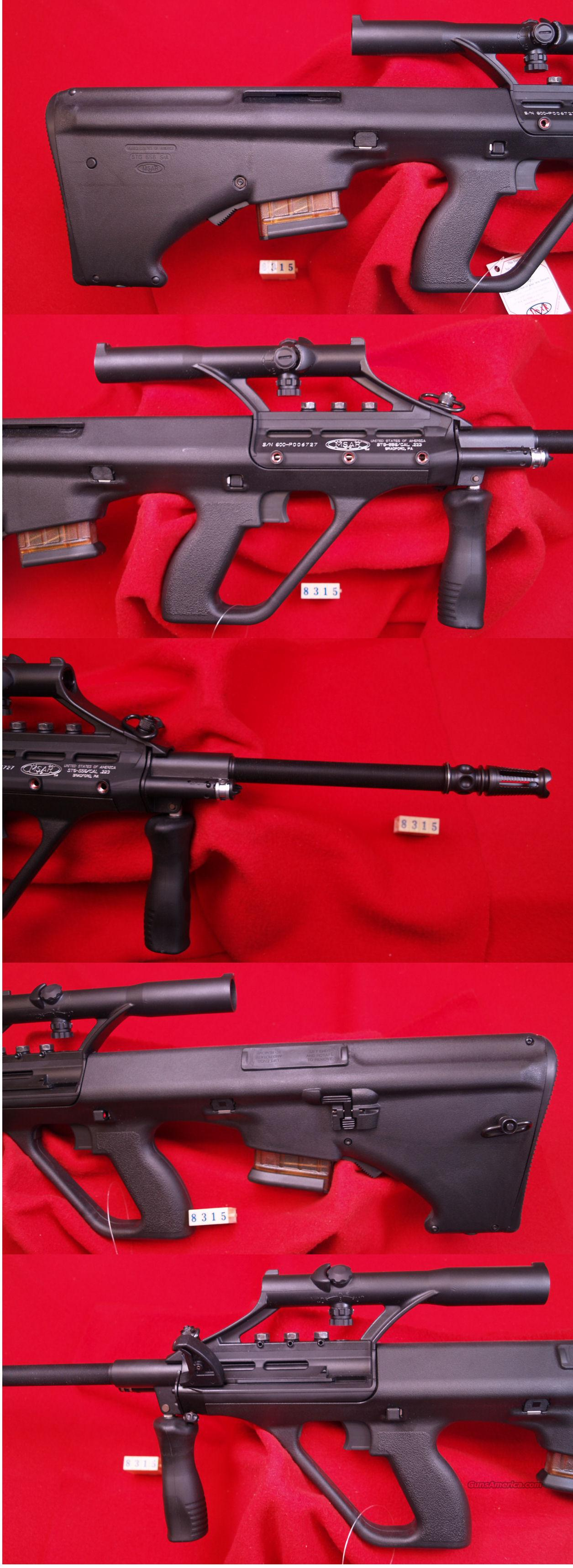 MSAR STG-556  223 CAL  Guns > Rifles > MN Misc Rifles