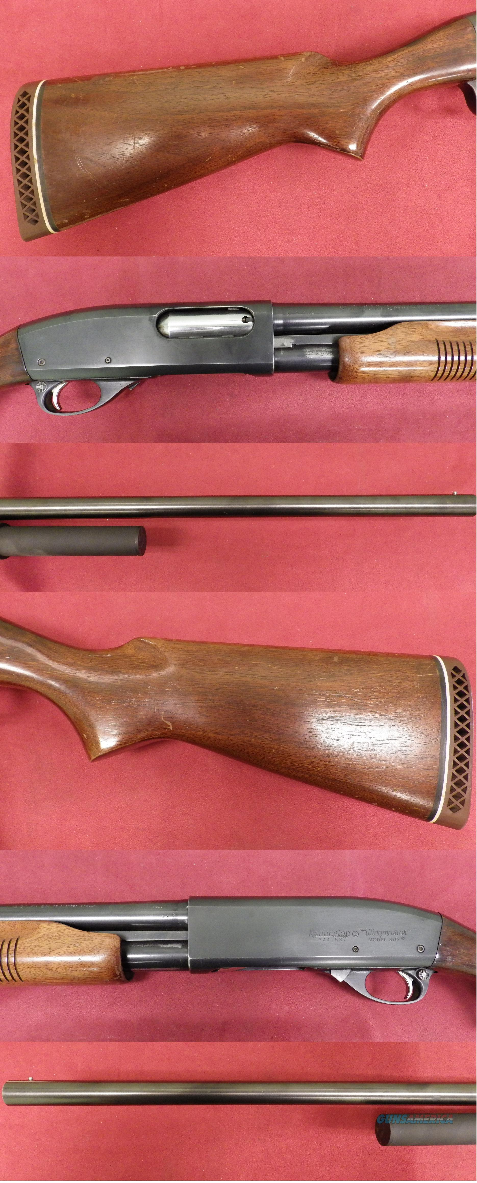 Remington 870 12ga W/2 round extention  *MUST CALL*  Guns > Shotguns > Remington Shotguns  > Pump > Hunting