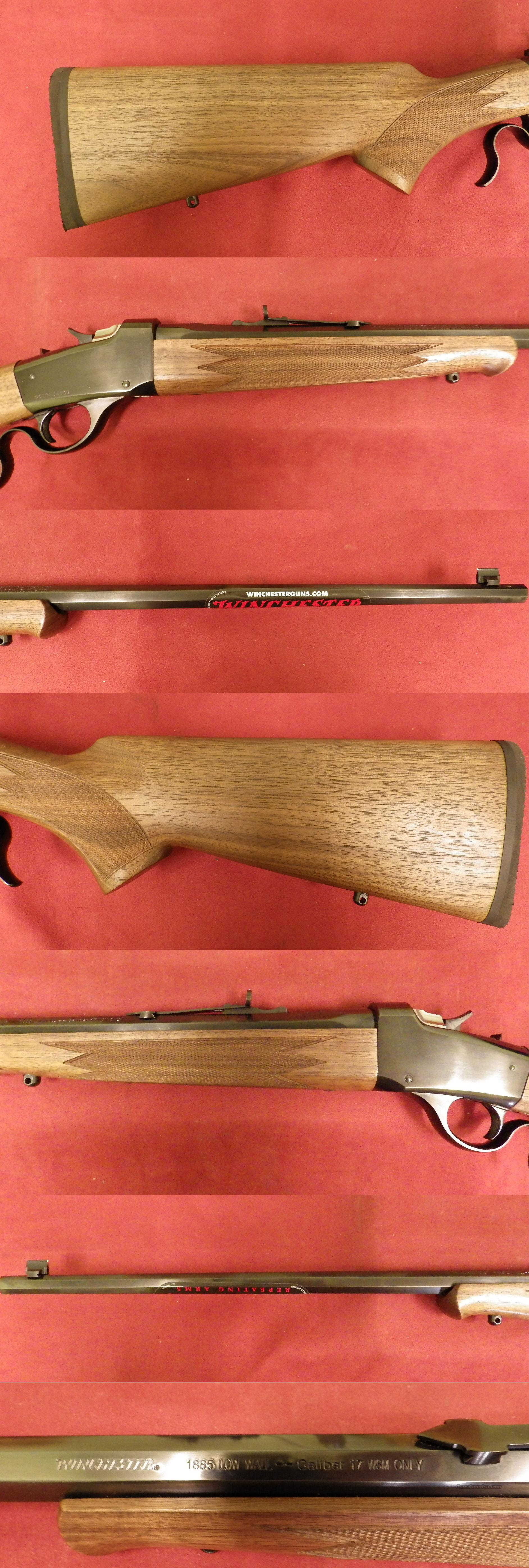 Winchester (USR) 1885 Low Wall .17WSM *MUST CALL*  Guns > Rifles > Winchester Rifles - Modern Lever > Other Lever > Post-64