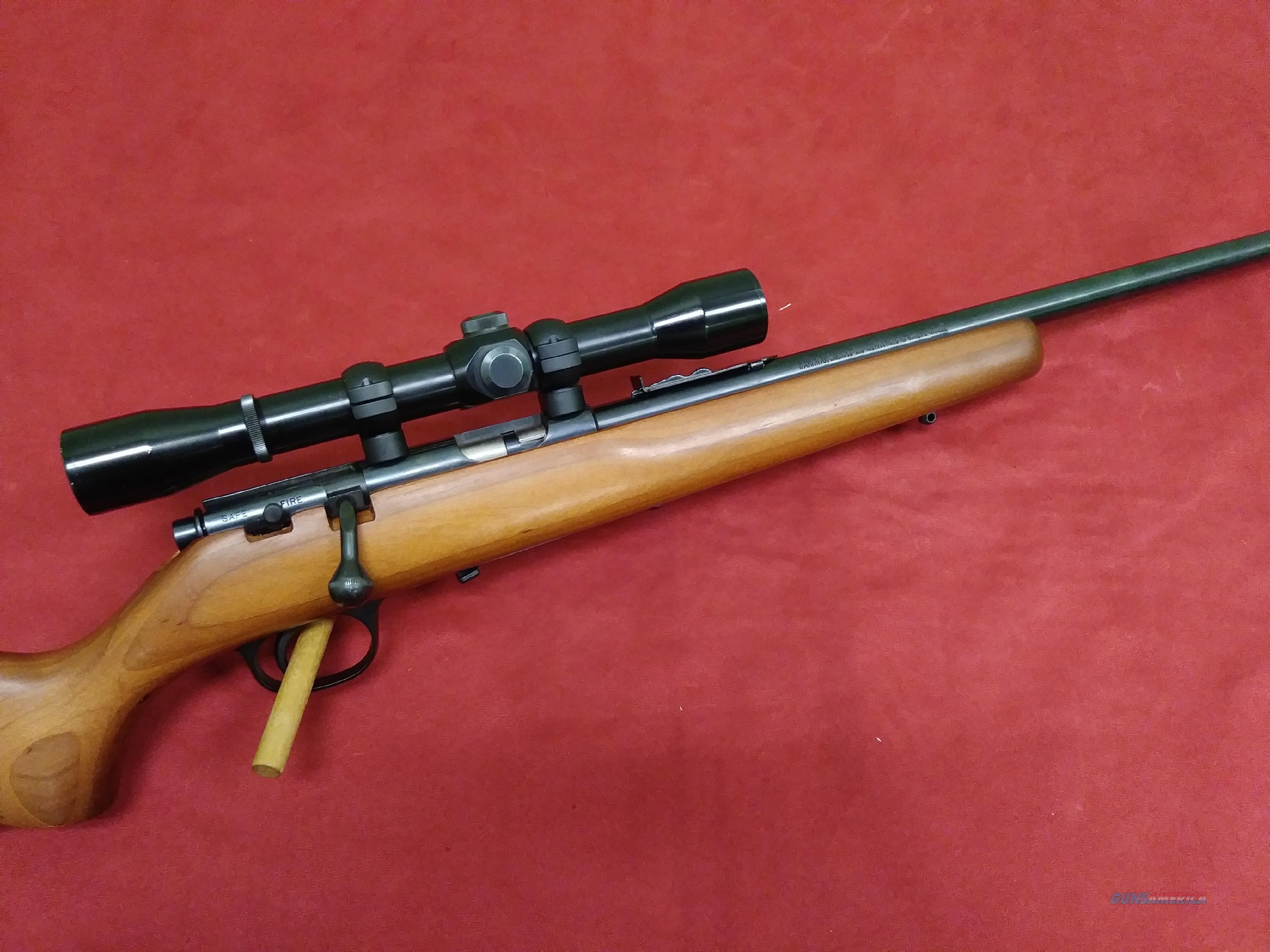 Marlin Model 925m, .22WMR, Scoped  Guns > Rifles > Marlin Rifles > Modern > Bolt/Pump