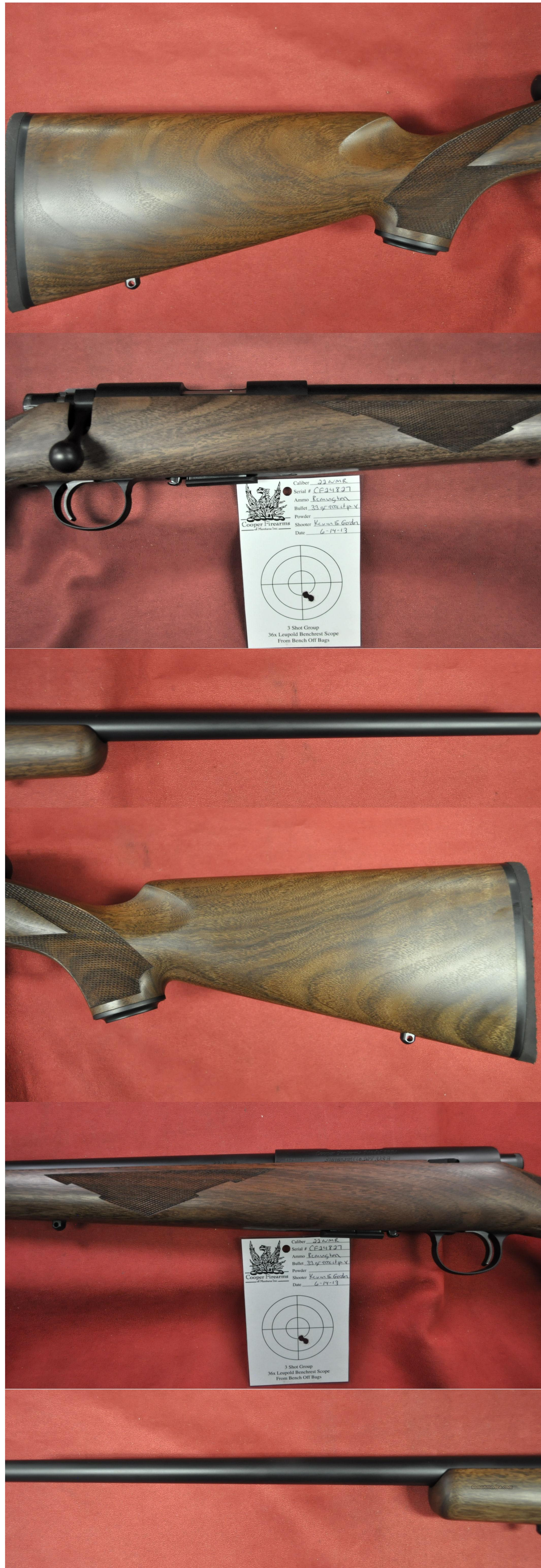 Cooper M57 Classic 22WMR *MUST CALL*  Guns > Rifles > Cooper Arms Rifles