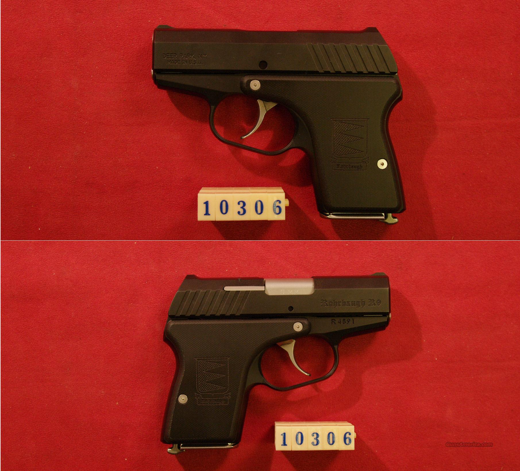 Rohrbaugh R-9 Stealth 9mm  Guns > Pistols > R Misc Pistols