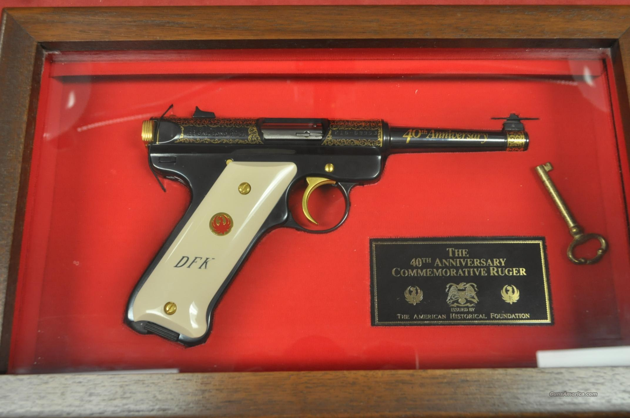 Ruger Mk II 40th Anniversary *MUST CALL*  Guns > Pistols > Ruger Semi-Auto Pistols > Mark I & II Family