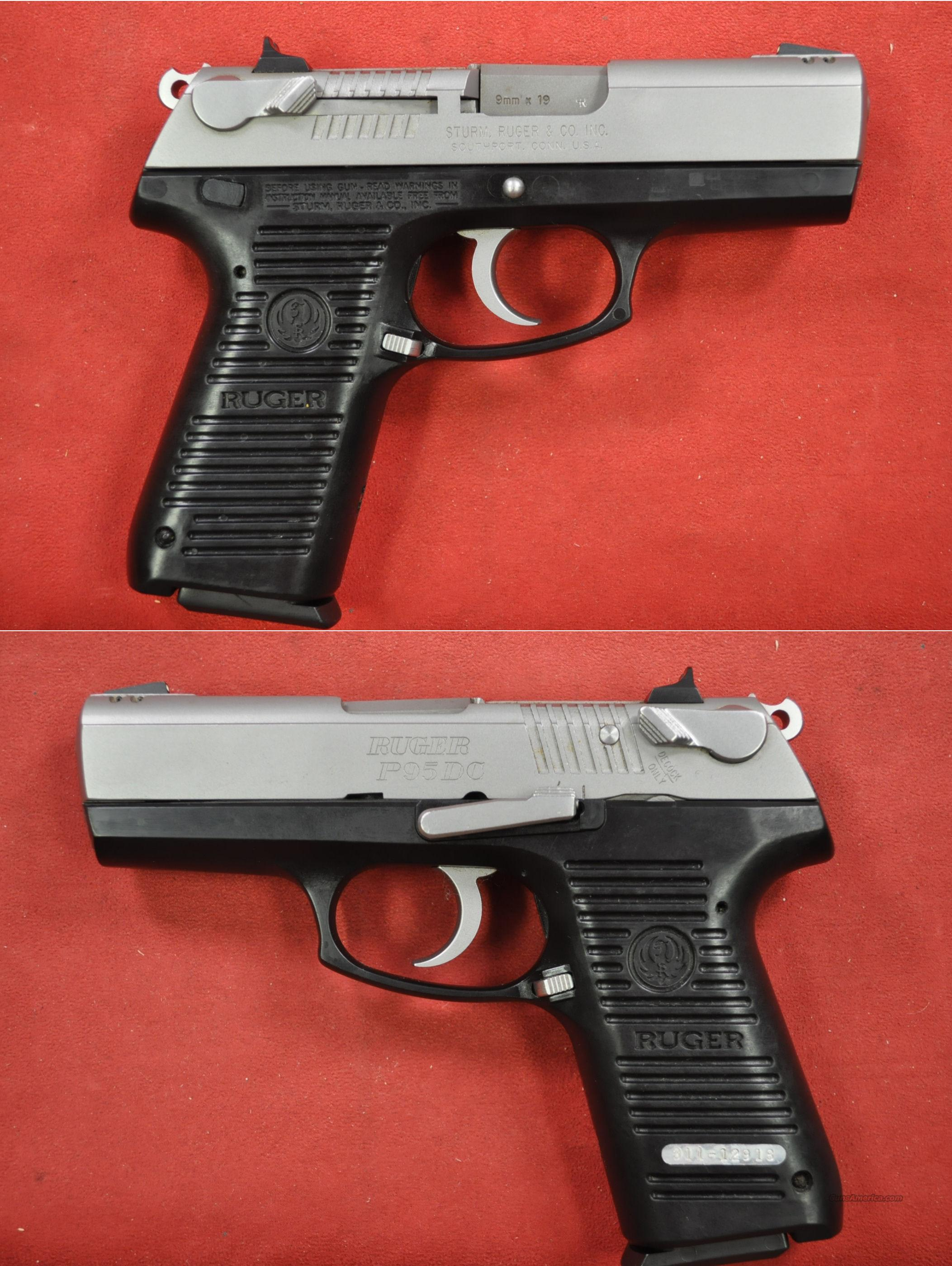 Ruger P95DC 9mm  Guns > Pistols > Ruger Semi-Auto Pistols > P-Series