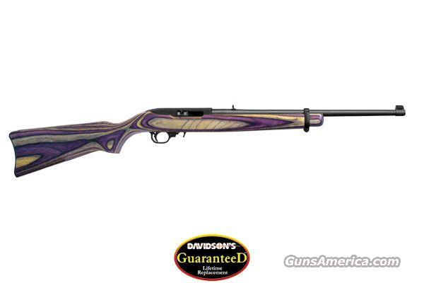 Ruger 10/22  .22LR  Blue W/Laminated Purple stock  Guns > Rifles > Ruger Rifles > 10-22