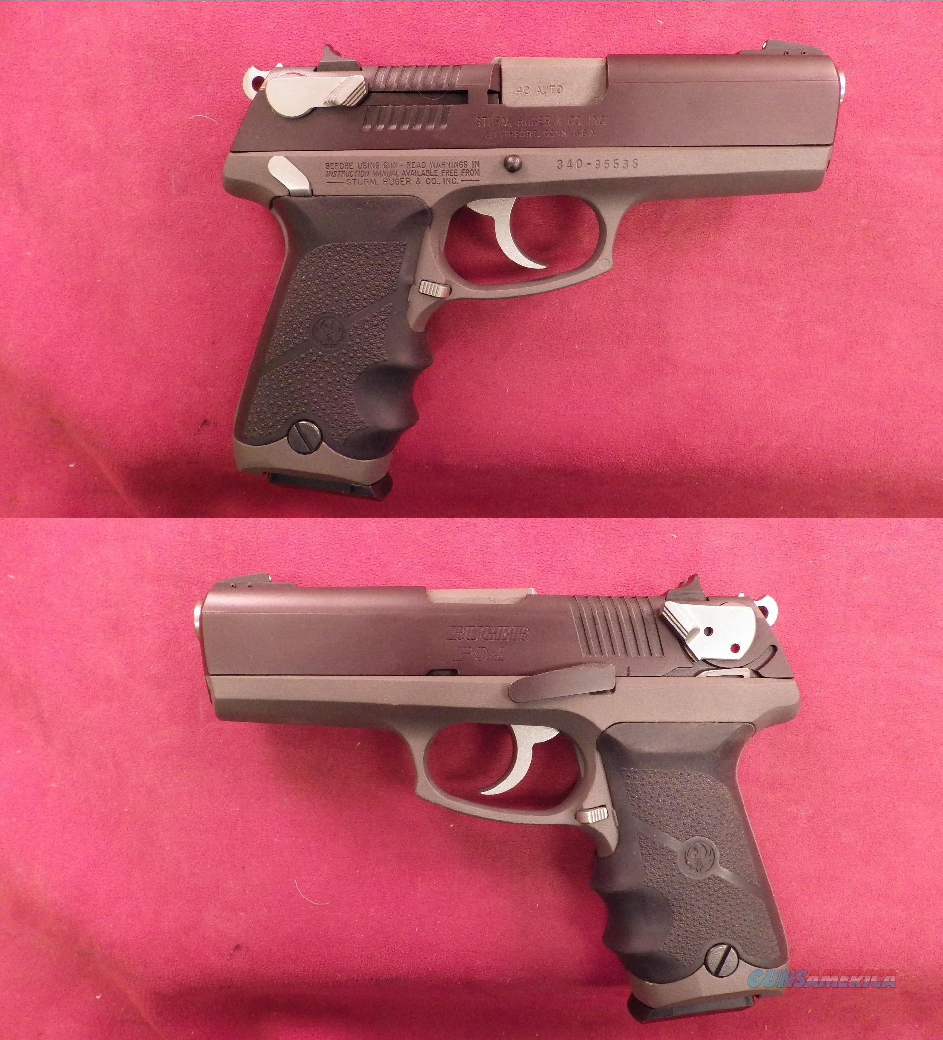Ruger P94 Special Edition 40 S&W  Guns > Pistols > Ruger Semi-Auto Pistols > P-Series