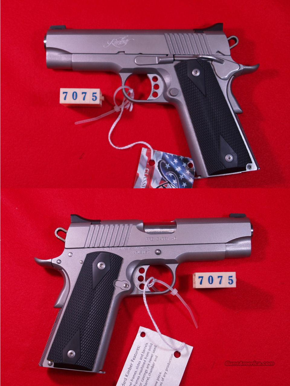 KIMBER PRO CARRY HD  45ACP  Guns > Pistols > Kimber of America Pistols